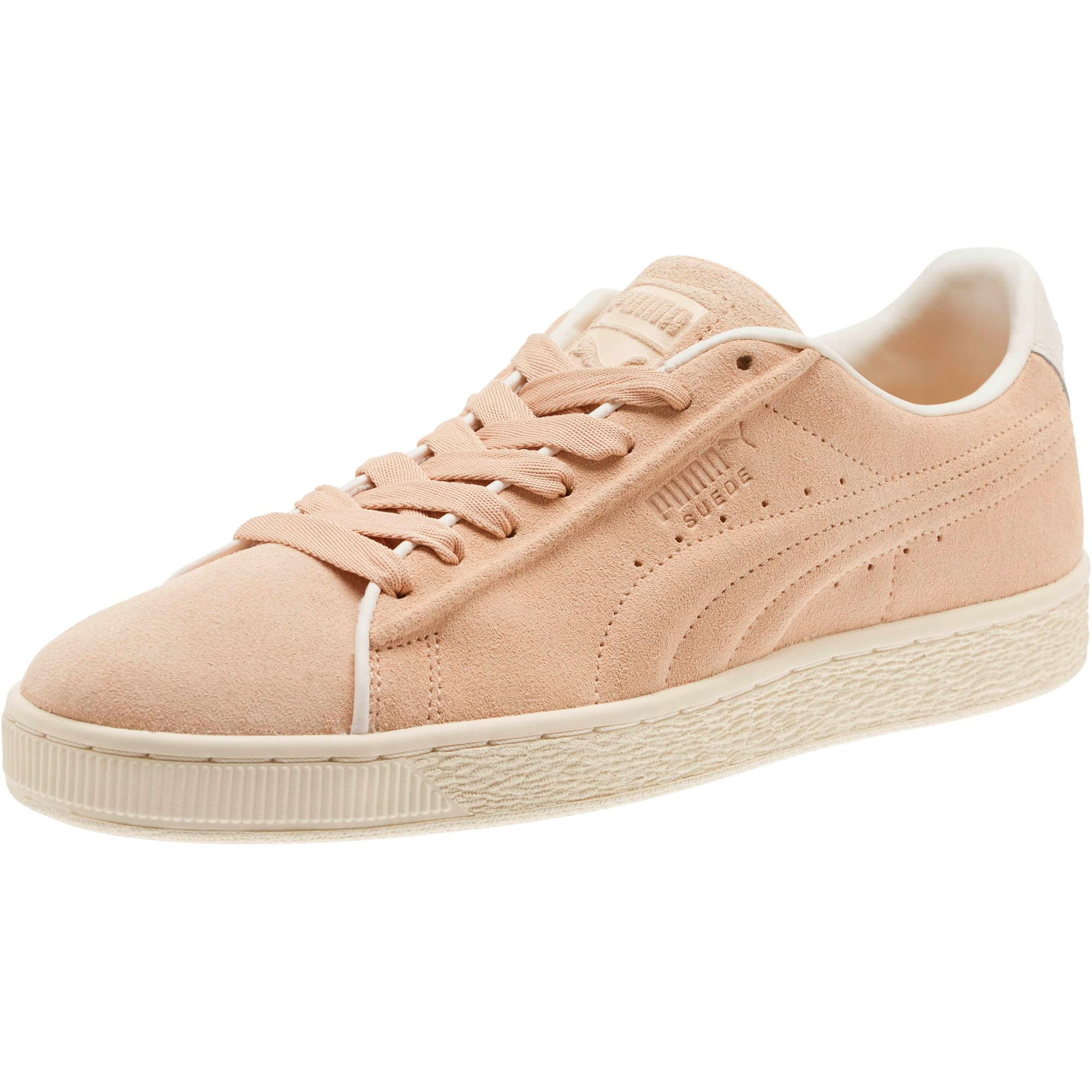 Thumbnail 1 of Suede Classic Raised Formstrip Sneakers, Natural Vachetta-Whisper w, medium