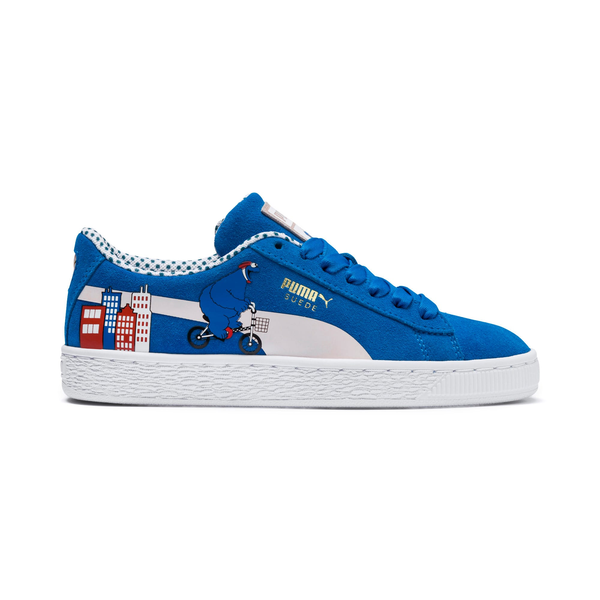 Miniatura 7 de Zapatos deportivosSesame Street 50 Suede para junior, Indigo Bunting-Veiled Rose, mediano