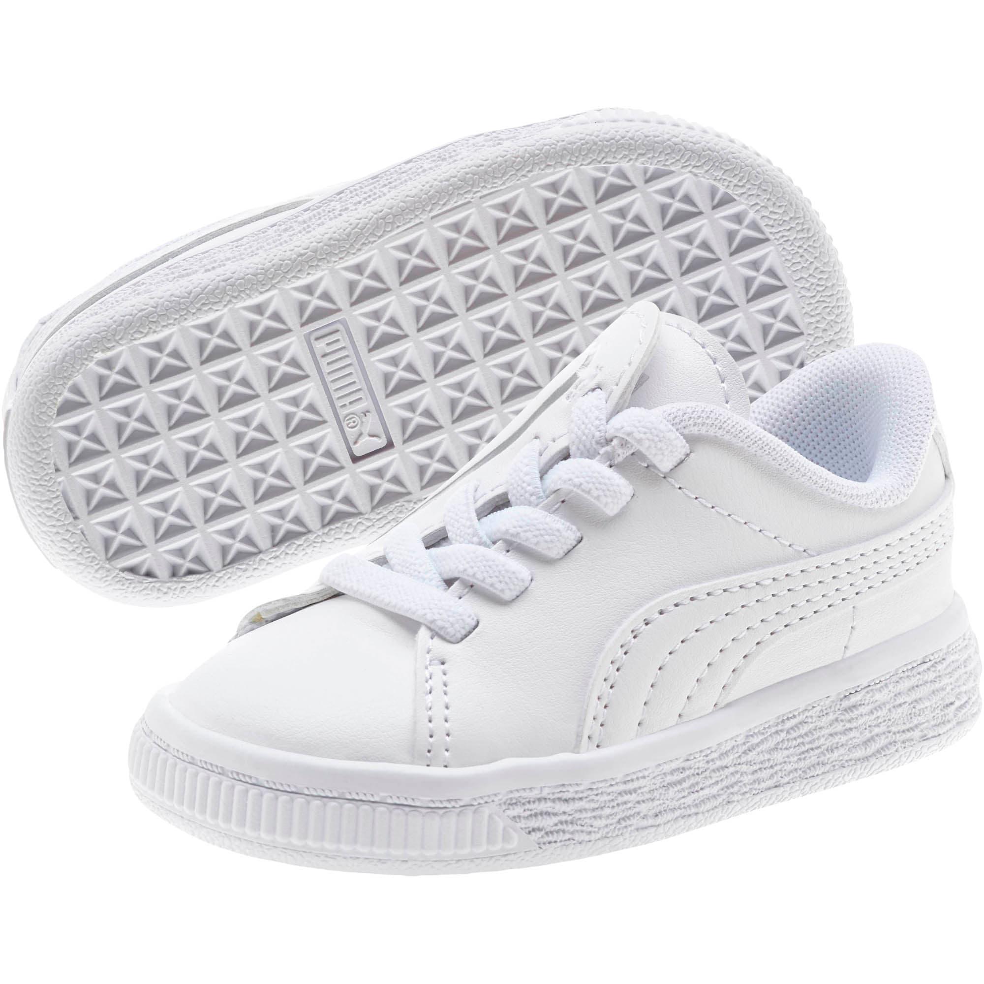 Miniatura 2 de Zapatos Basket Crush AC para bebés, Puma White-Puma Silver, mediano