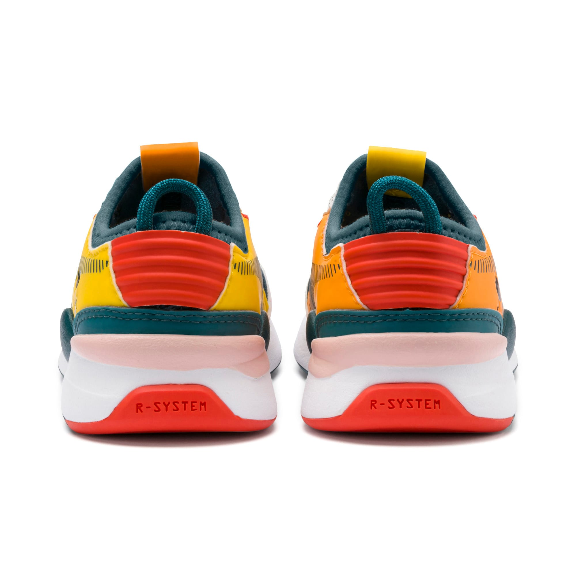 Thumbnail 3 of Sesame Street 50 RS-0 AC Toddler Shoes, Rose-BlueCoral-Dandelion, medium