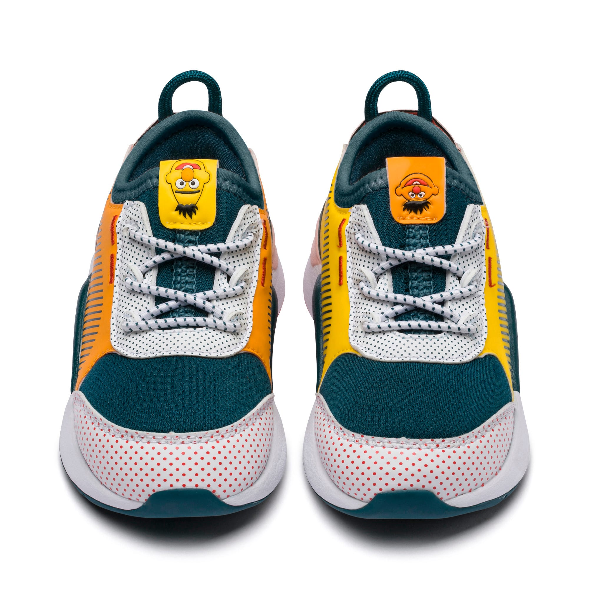 Thumbnail 7 of Sesame Street 50 RS-0 AC Toddler Shoes, Rose-BlueCoral-Dandelion, medium
