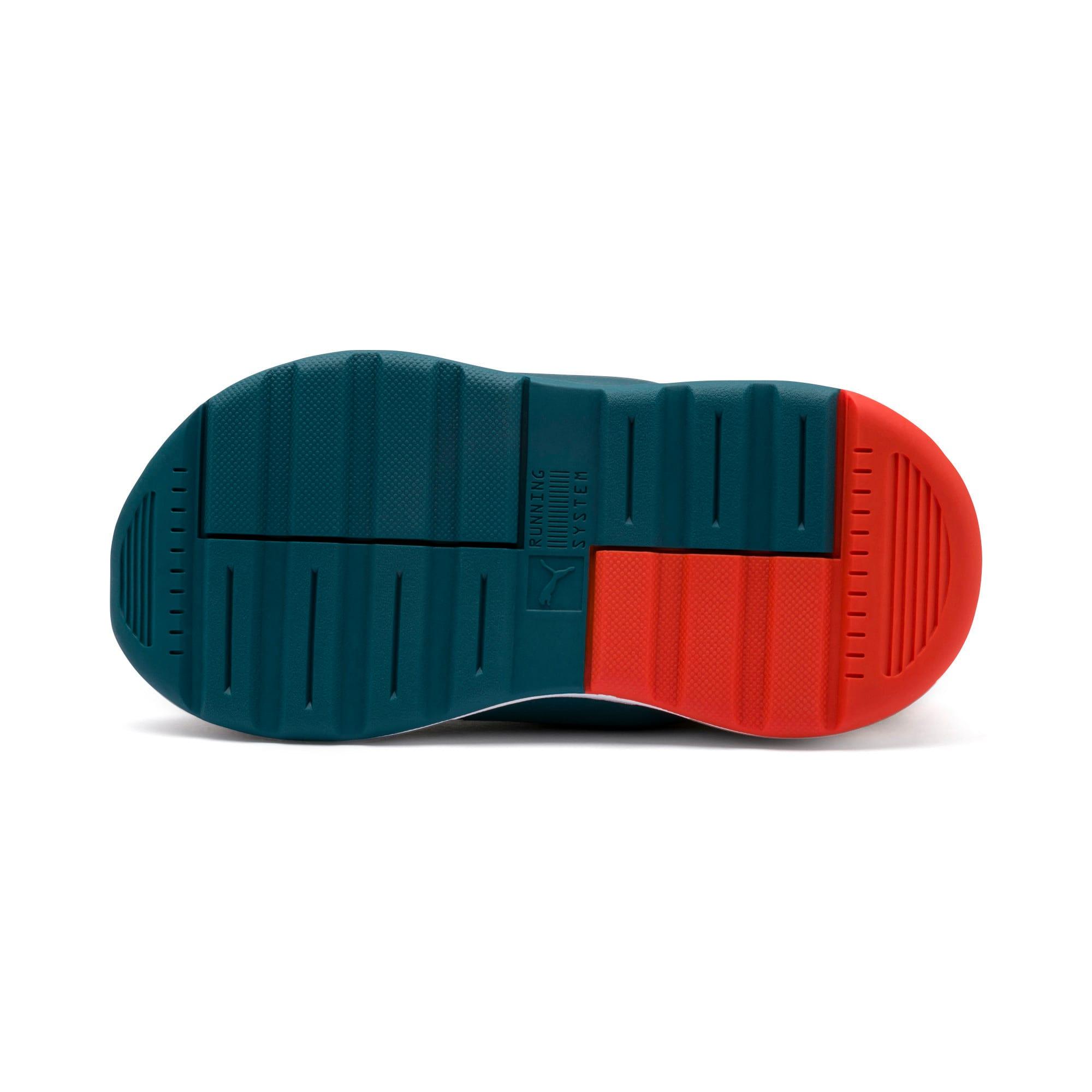Thumbnail 4 of Sesame Street 50 RS-0 AC Toddler Shoes, Rose-BlueCoral-Dandelion, medium