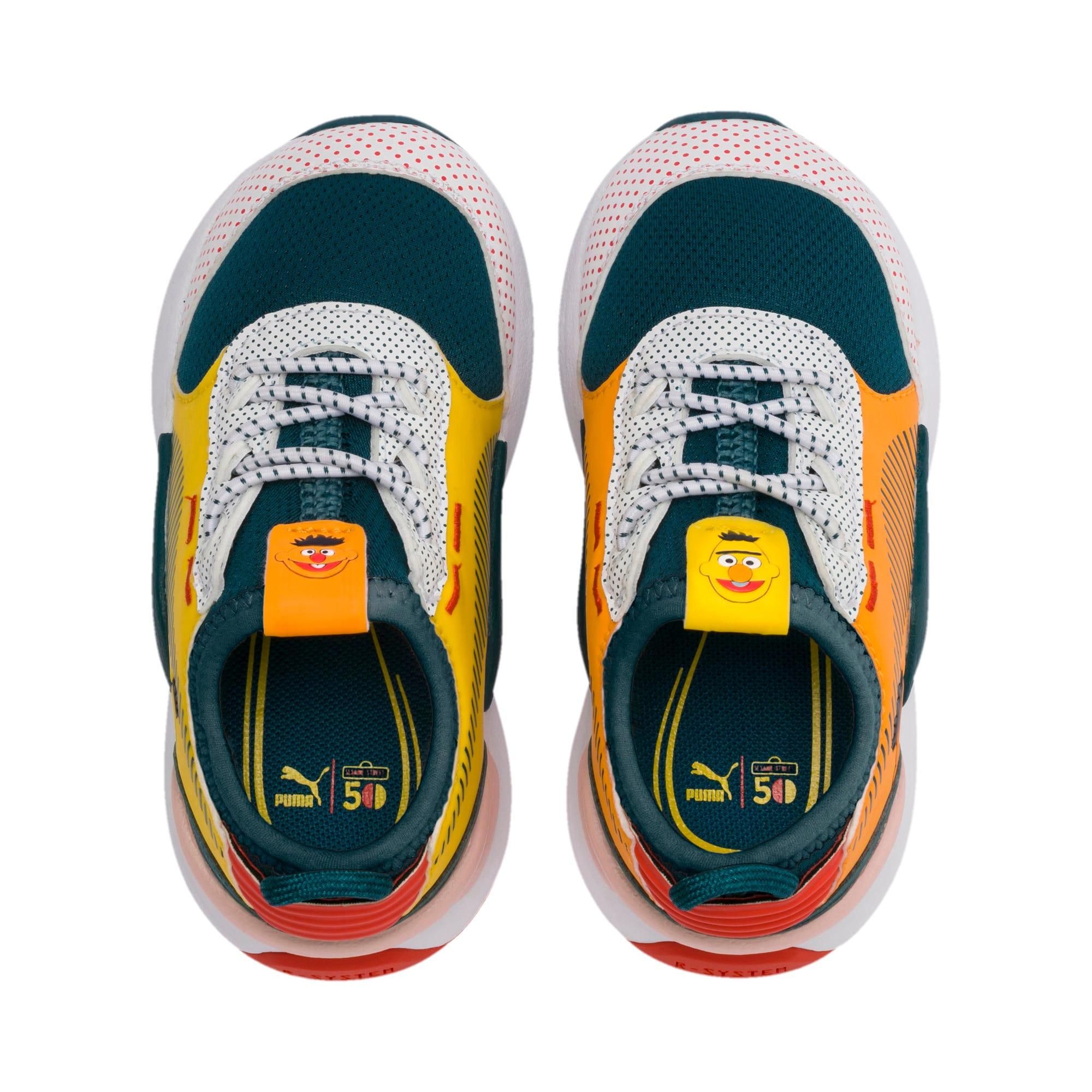 Thumbnail 6 of Sesame Street 50 RS-0 AC Toddler Shoes, Rose-BlueCoral-Dandelion, medium