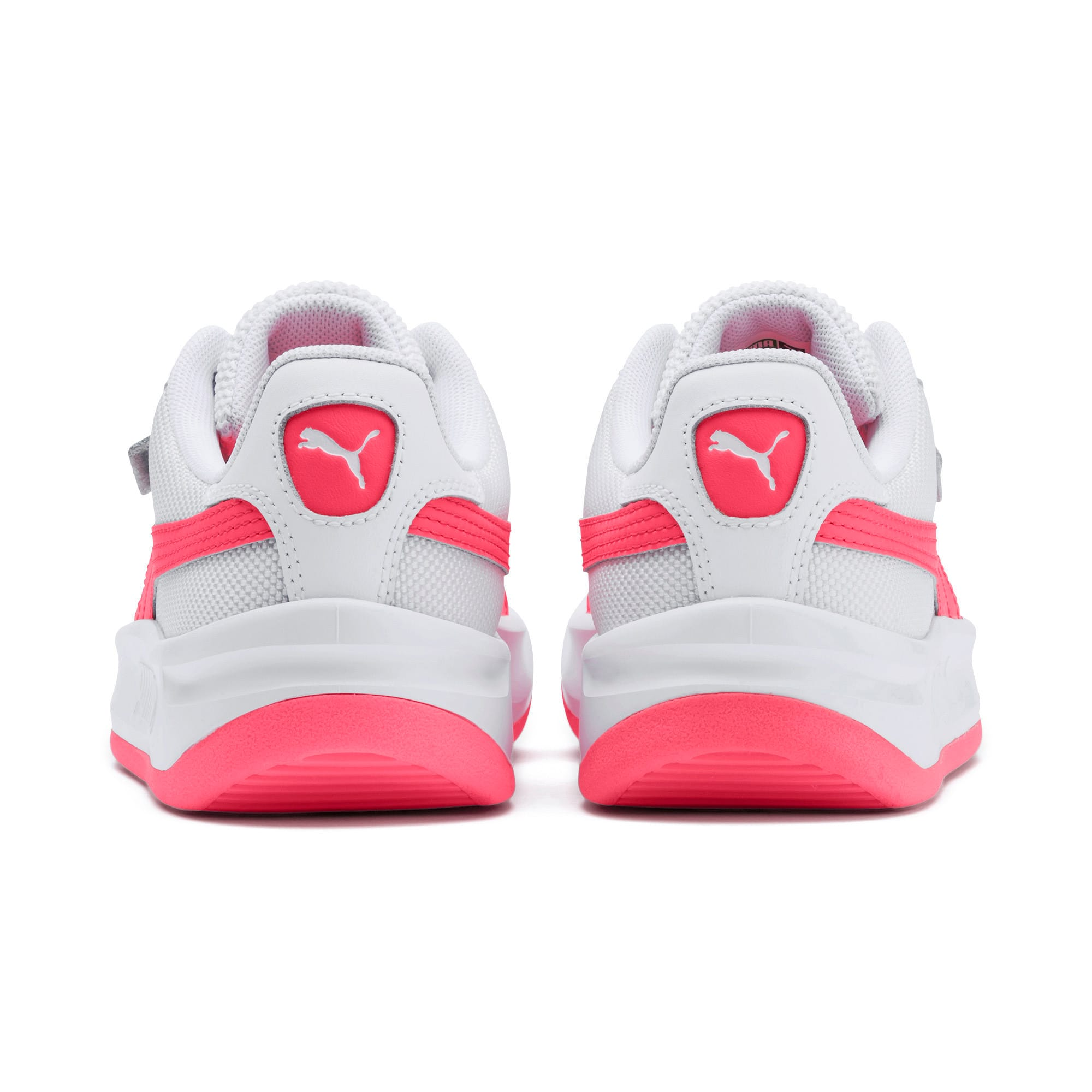 Thumbnail 3 of California Sneakers JR, Puma White-Pink Alert, medium