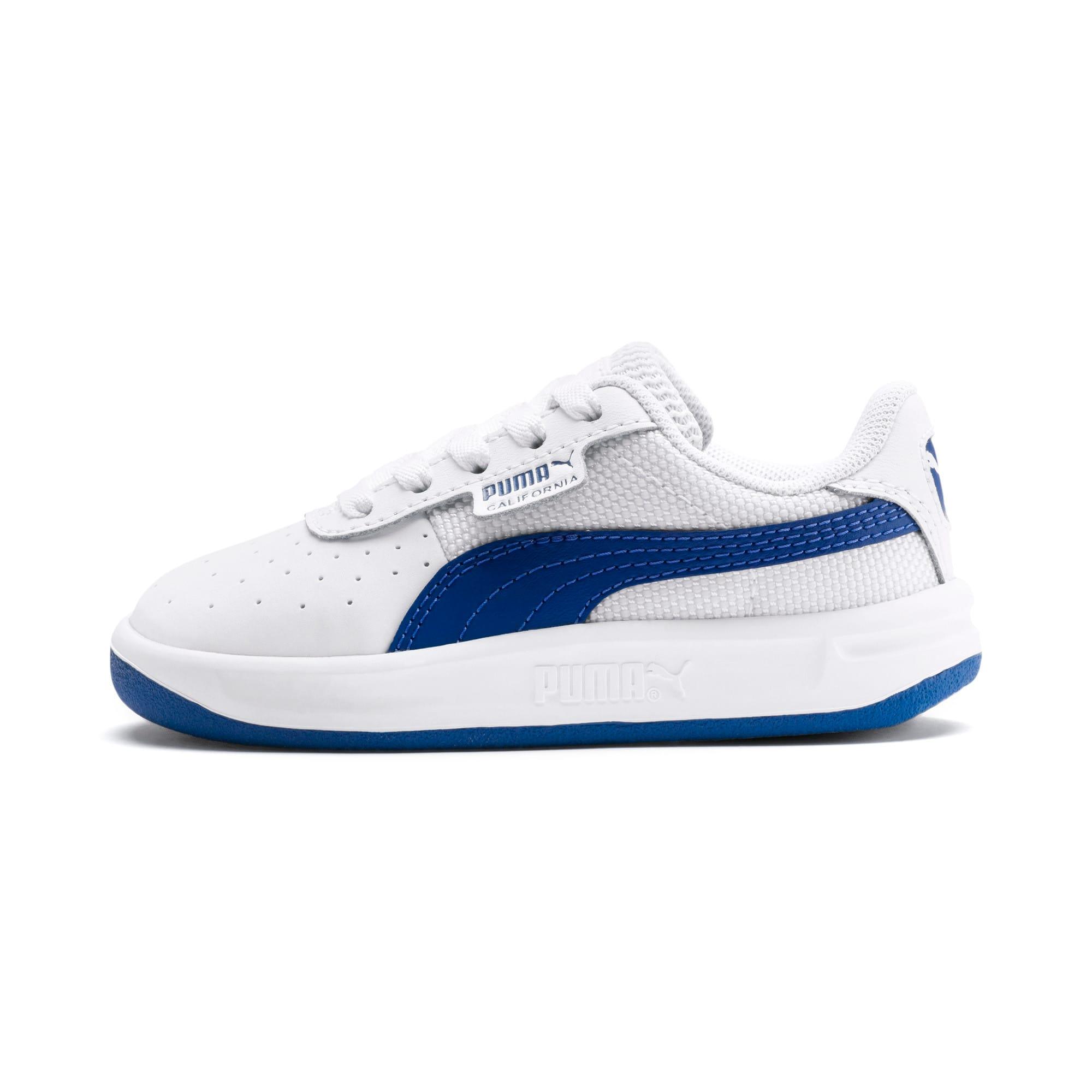 Thumbnail 1 of California Toddler Shoes, Puma White-Galaxy Blue, medium