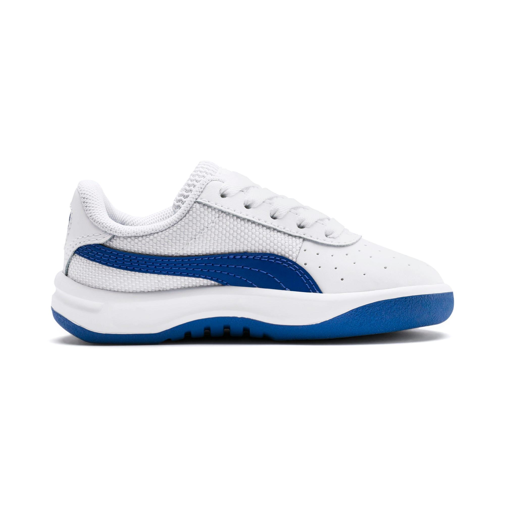 Thumbnail 5 of California Toddler Shoes, Puma White-Galaxy Blue, medium