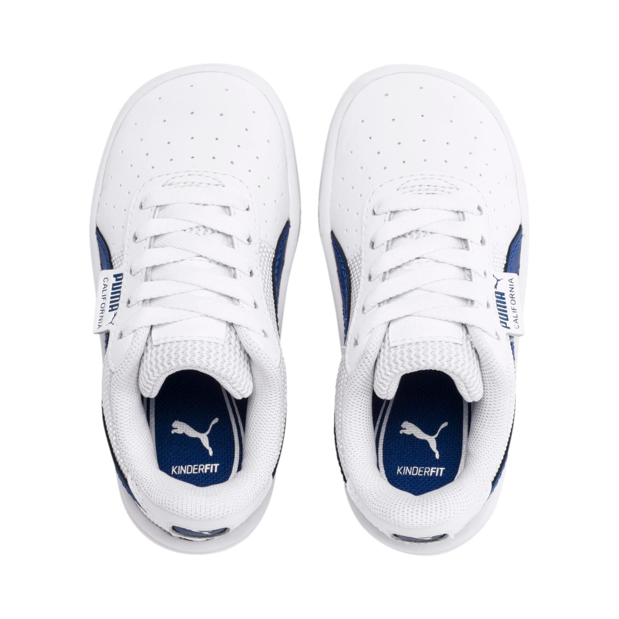 Thumbnail 6 of California Toddler Shoes, Puma White-Galaxy Blue, medium