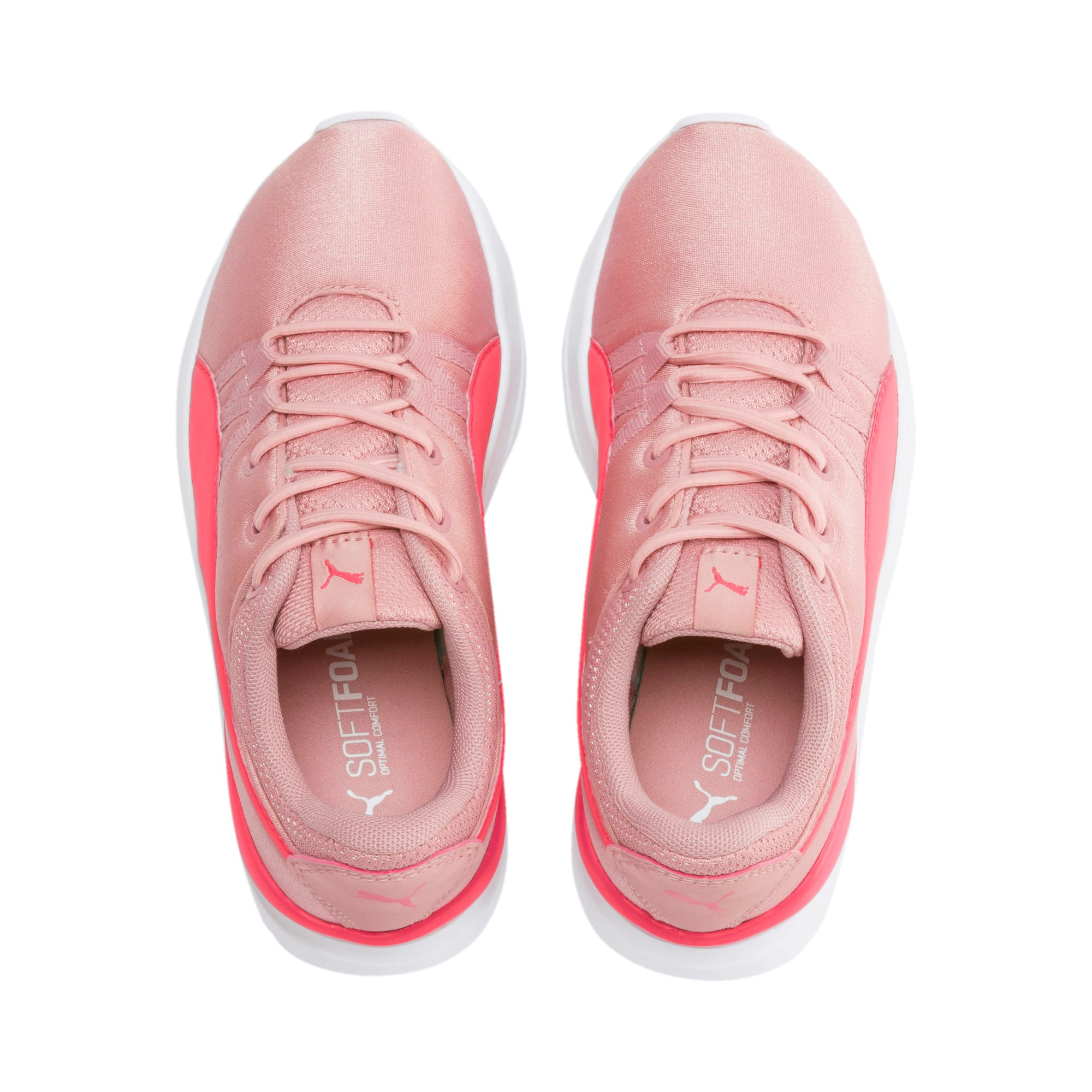 Thumbnail 2 of Adela Girls' Trainers, Bridal Rose-Calypso Coral, medium-IND