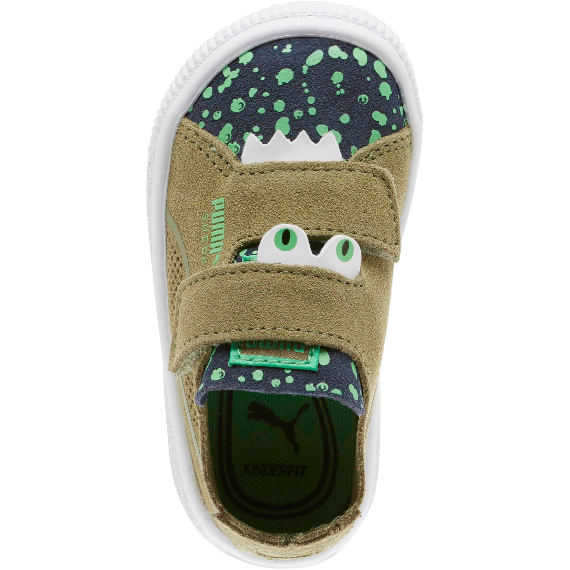 Thumbnail 5 of Suede Deconstruct Monster Toddler Shoes, Olivine-Peacoat-Irish Green, medium