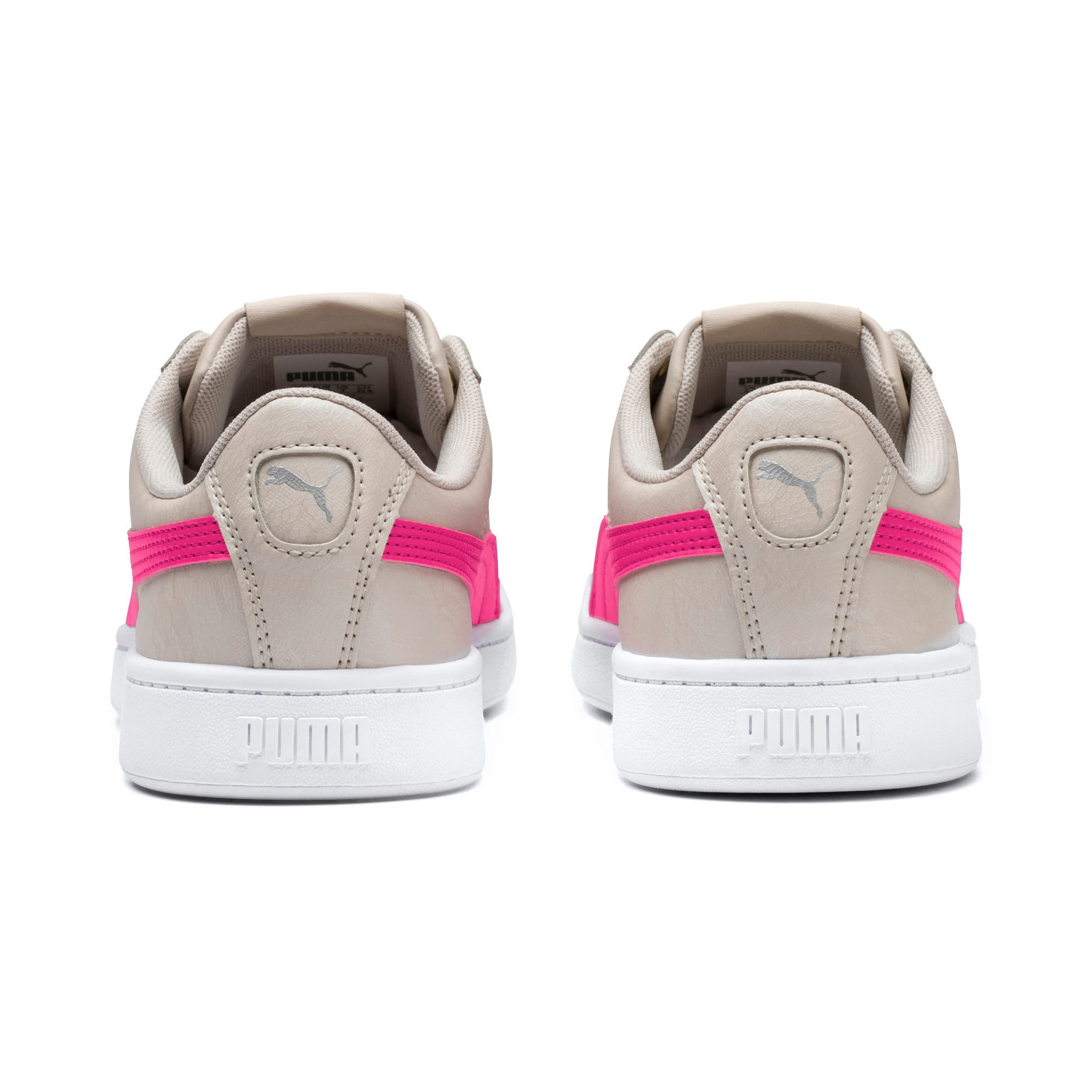 Thumbnail 3 of PUMA Vikky v2 Summer Pack Women's Sneakers, Silver Gray-F Purple-Silver, medium-IND