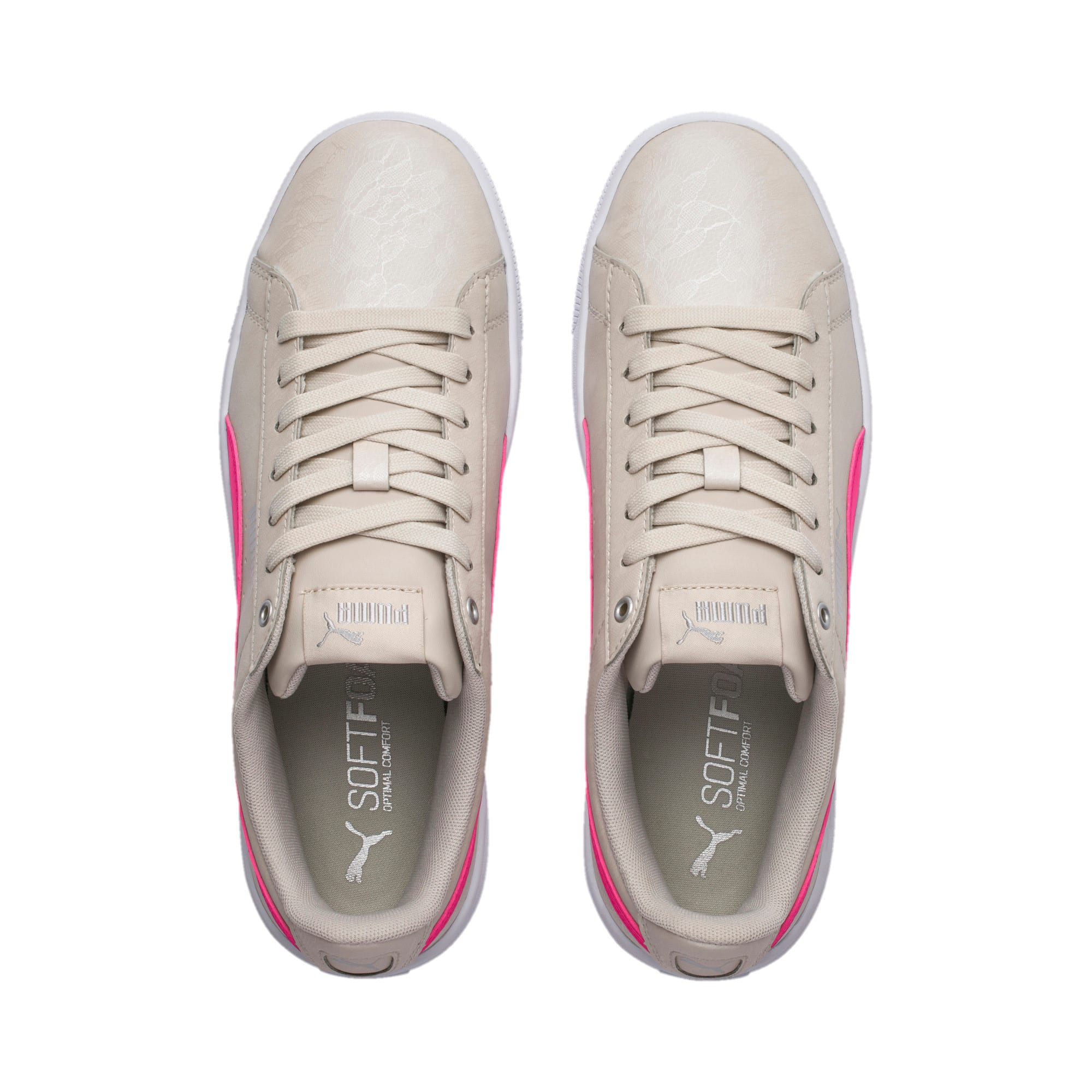 Thumbnail 6 of PUMA Vikky v2 Summer Pack Women's Sneakers, Silver Gray-F Purple-Silver, medium-IND