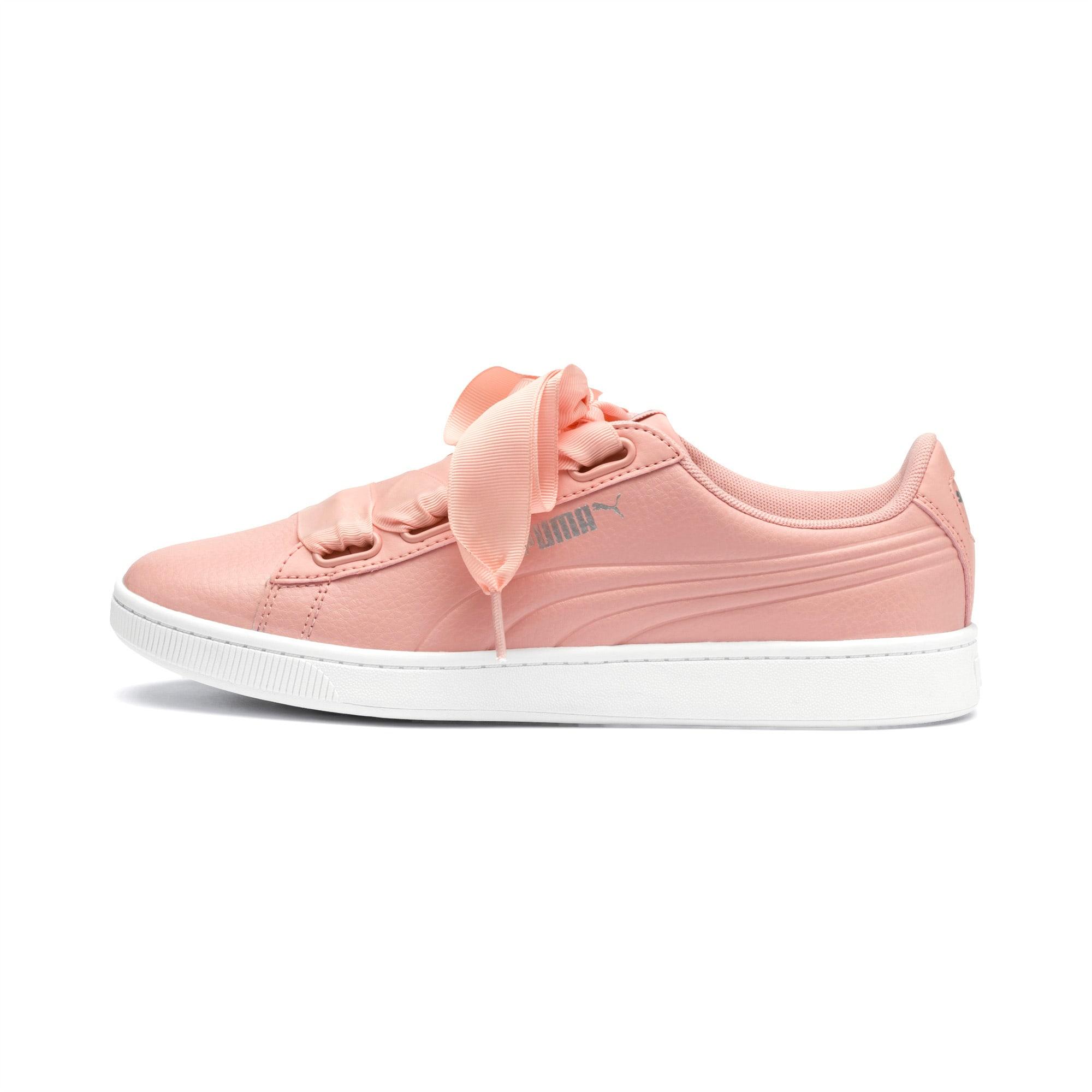 Sneakersy PUMA Vikky V2 Ribbon Core 369114 04 Pech BudPuma SilverWhite