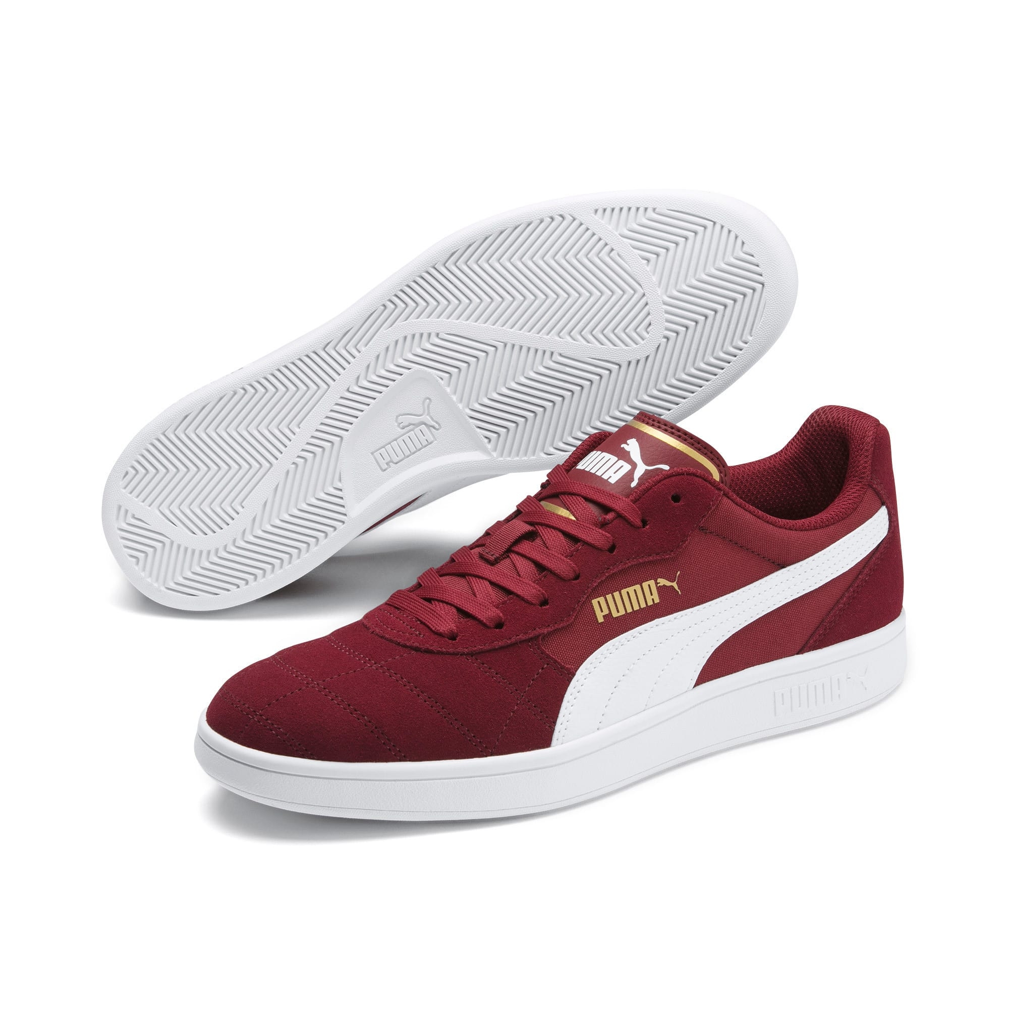 Thumbnail 3 of Zapatillas Astro Kick, Rhubarb-Puma White-Gold, medium