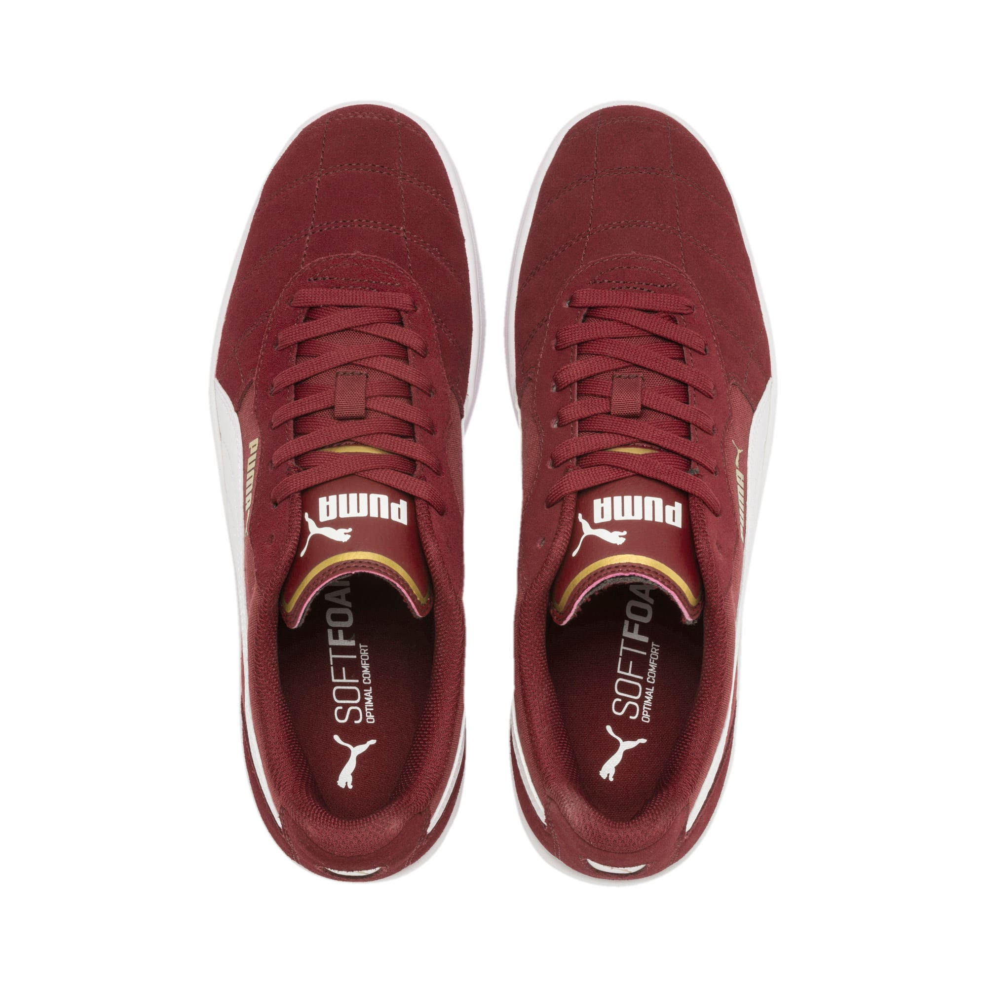 Thumbnail 7 of Zapatillas Astro Kick, Rhubarb-Puma White-Gold, medium