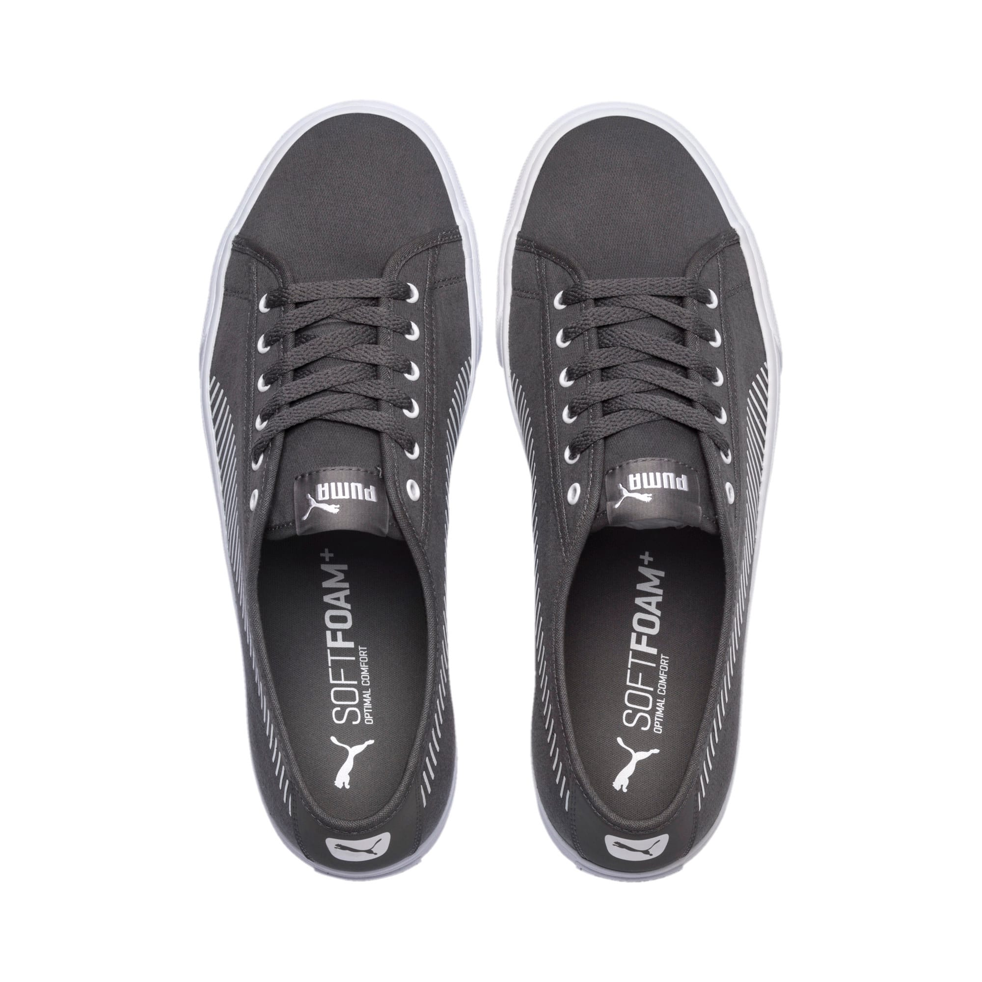 Thumbnail 6 of Bari Sneakers, Charcoal Gray-Puma White, medium-IND