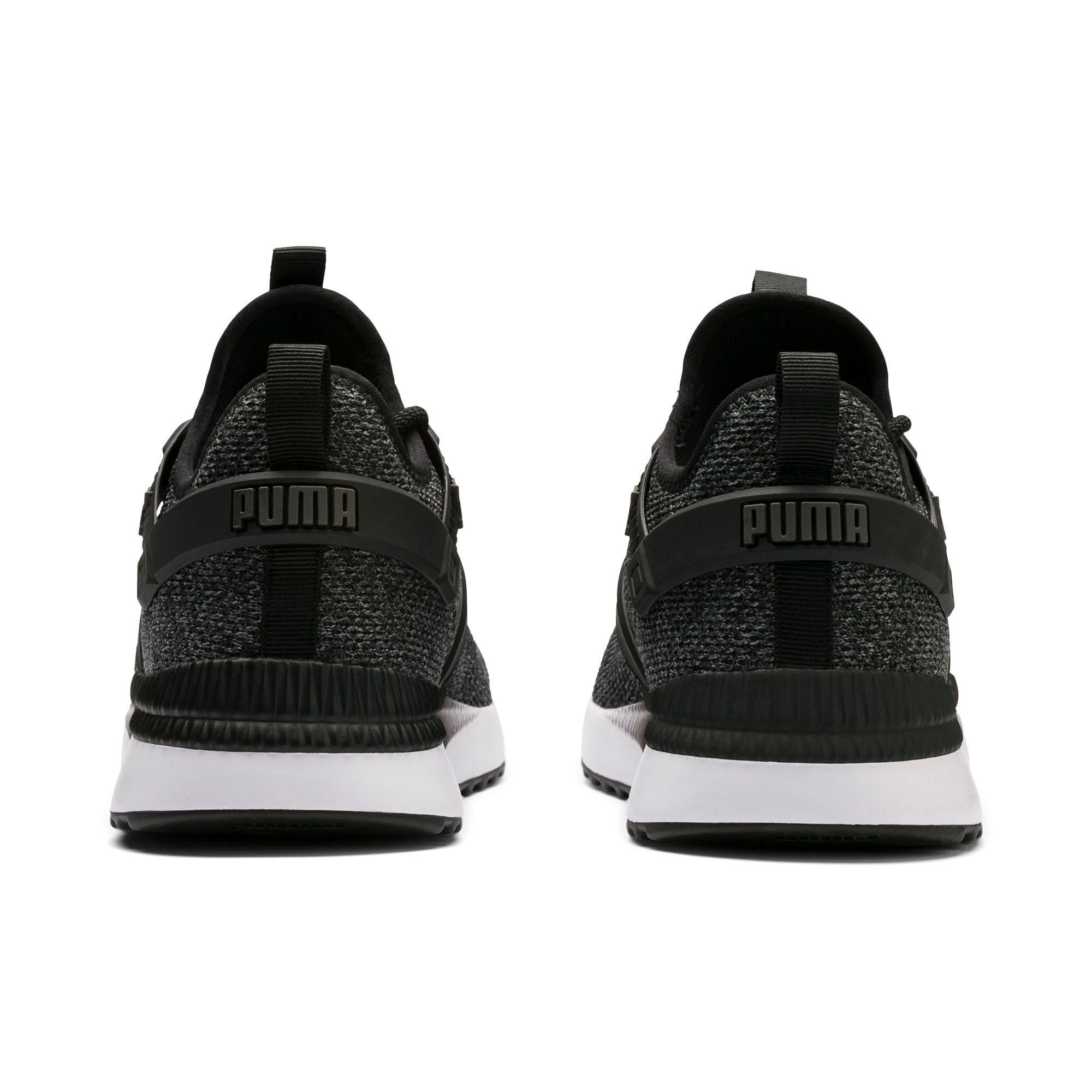 Thumbnail 3 of Pacer Next Excel VariKnit Trainers, Puma Black-Charcoal Gray, medium-IND