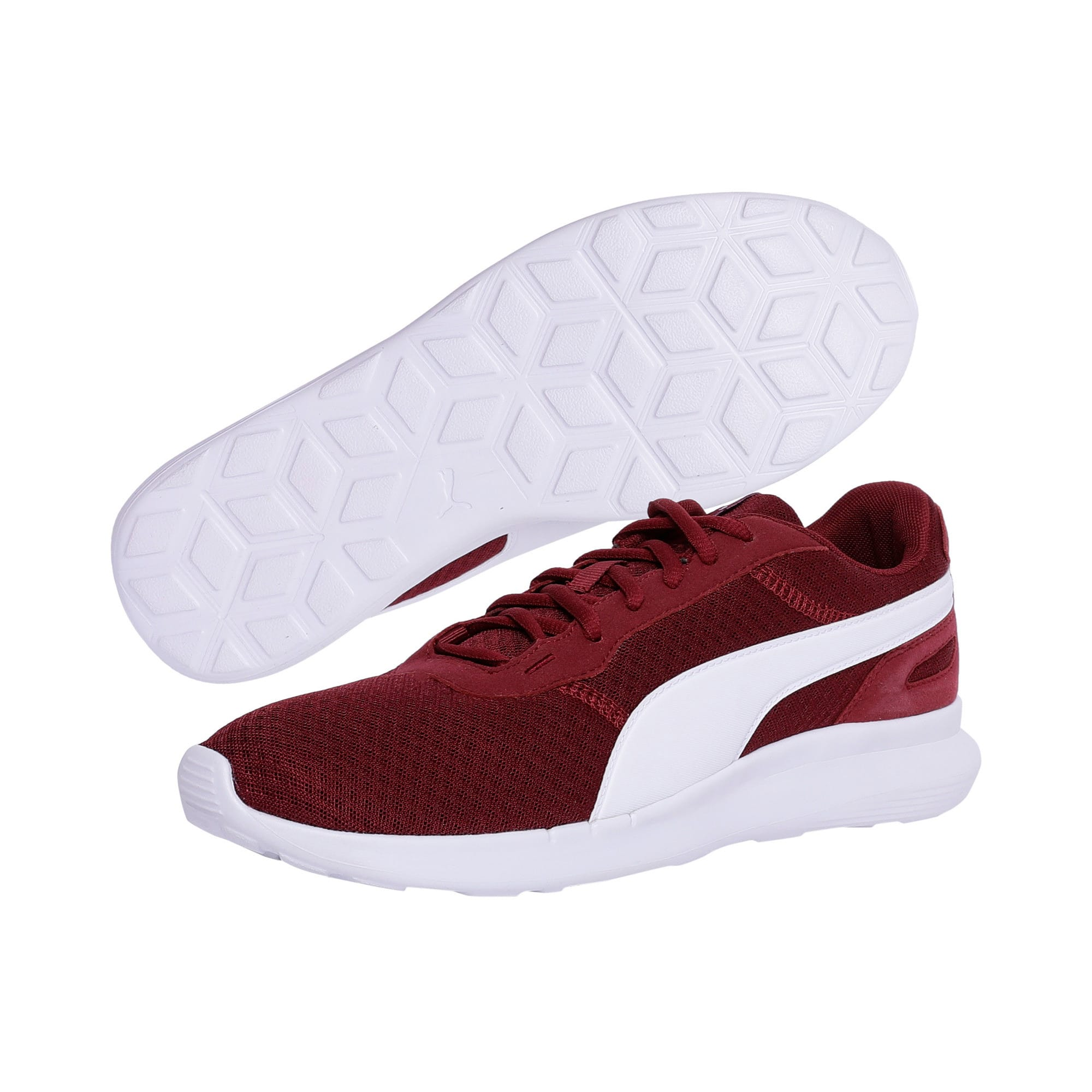 Thumbnail 2 of ST Activate Trainers, Cordovan-Puma White, medium-IND