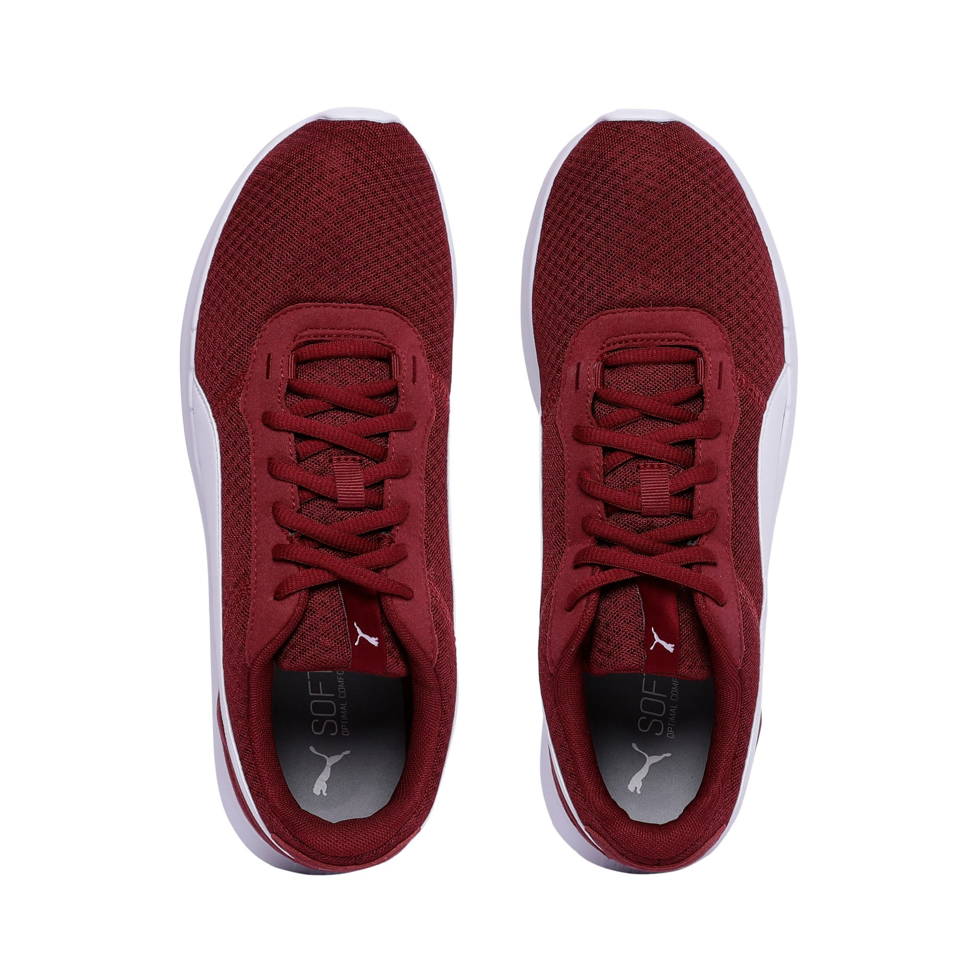 Thumbnail 6 of ST Activate Trainers, Cordovan-Puma White, medium-IND