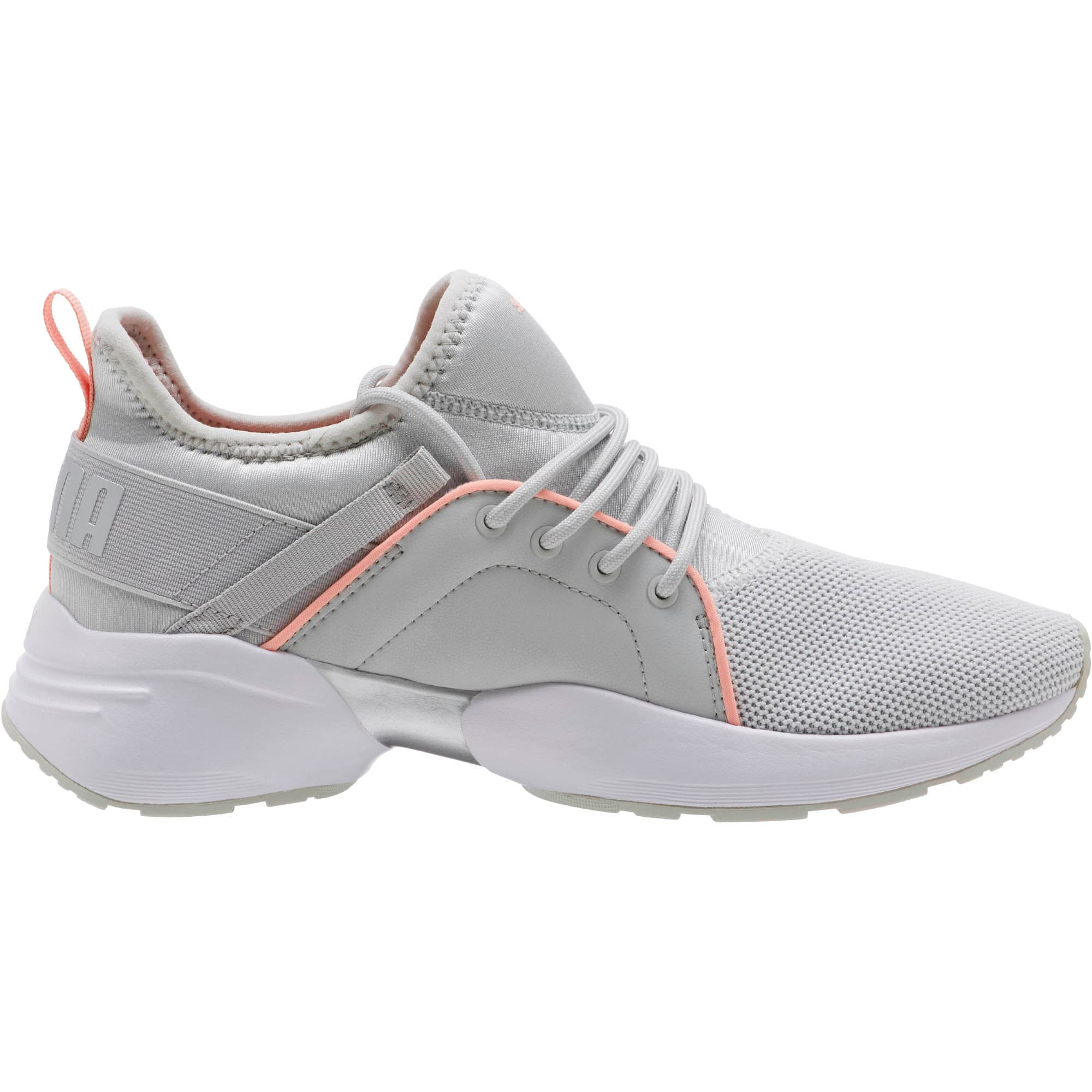 Thumbnail 3 of Sirena Women's Training Shoes, Glacier Gray-Peach Bud, medium