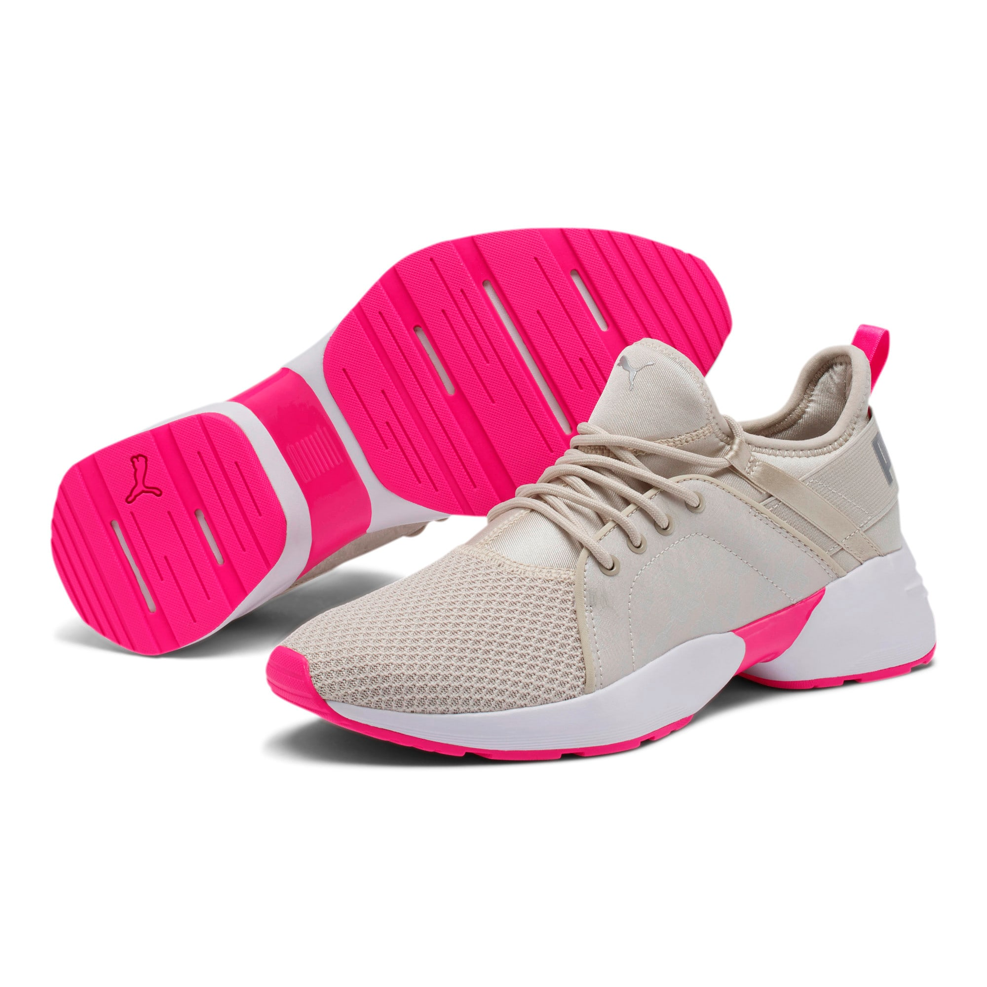 Thumbnail 2 of Sirena Summer Women's Sneakers, Silver Gray-Puma White, medium