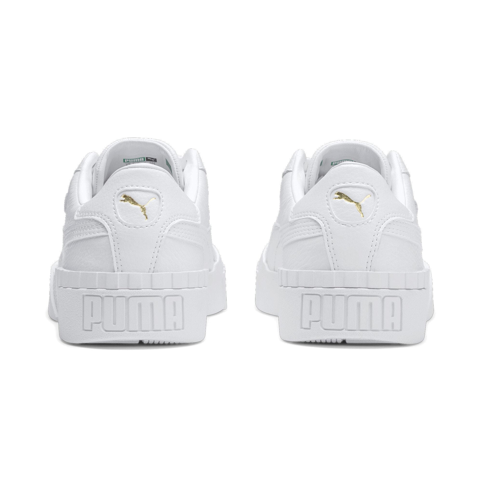 Thumbnail 4 of Cali Women's Sneakers, Puma White-Puma White, medium