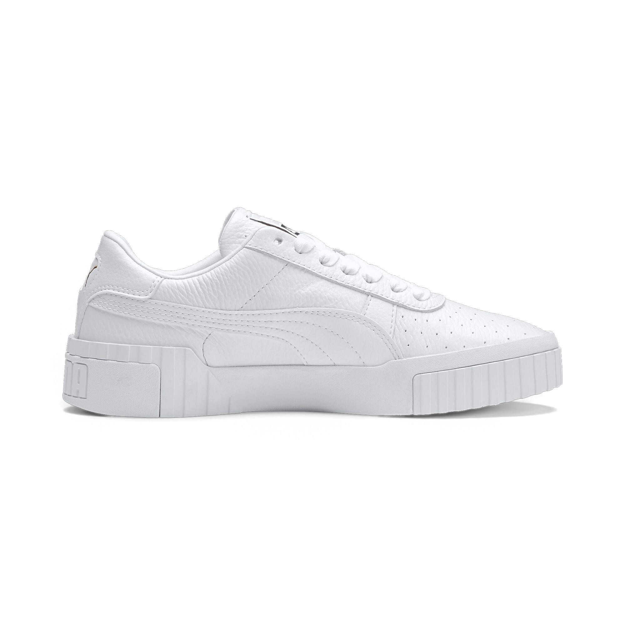 Thumbnail 6 of Cali Women's Sneakers, Puma White-Puma White, medium