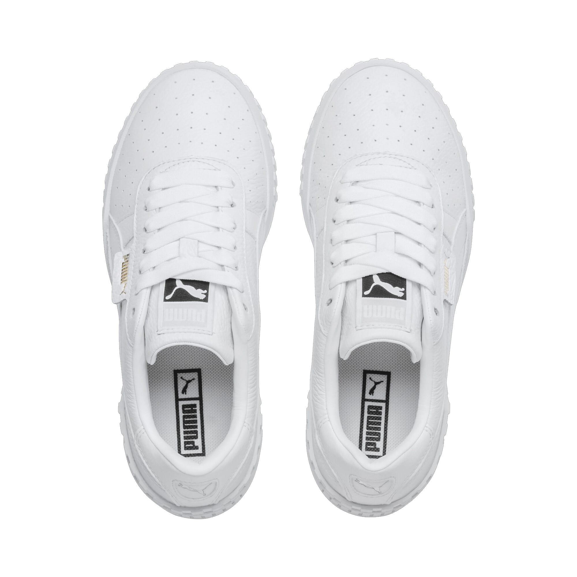 Thumbnail 7 of Cali Women's Sneakers, Puma White-Puma White, medium