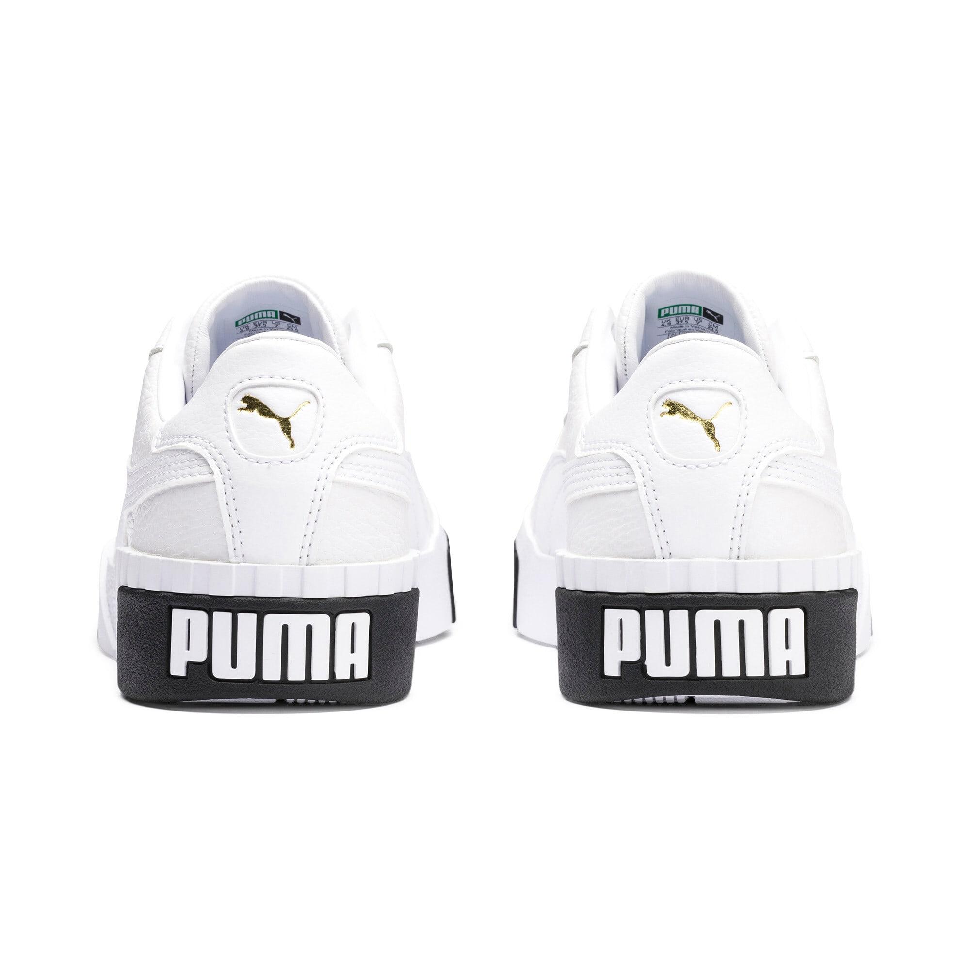 Thumbnail 4 of CALI ウィメンズ, Puma White-Puma Black, medium-JPN