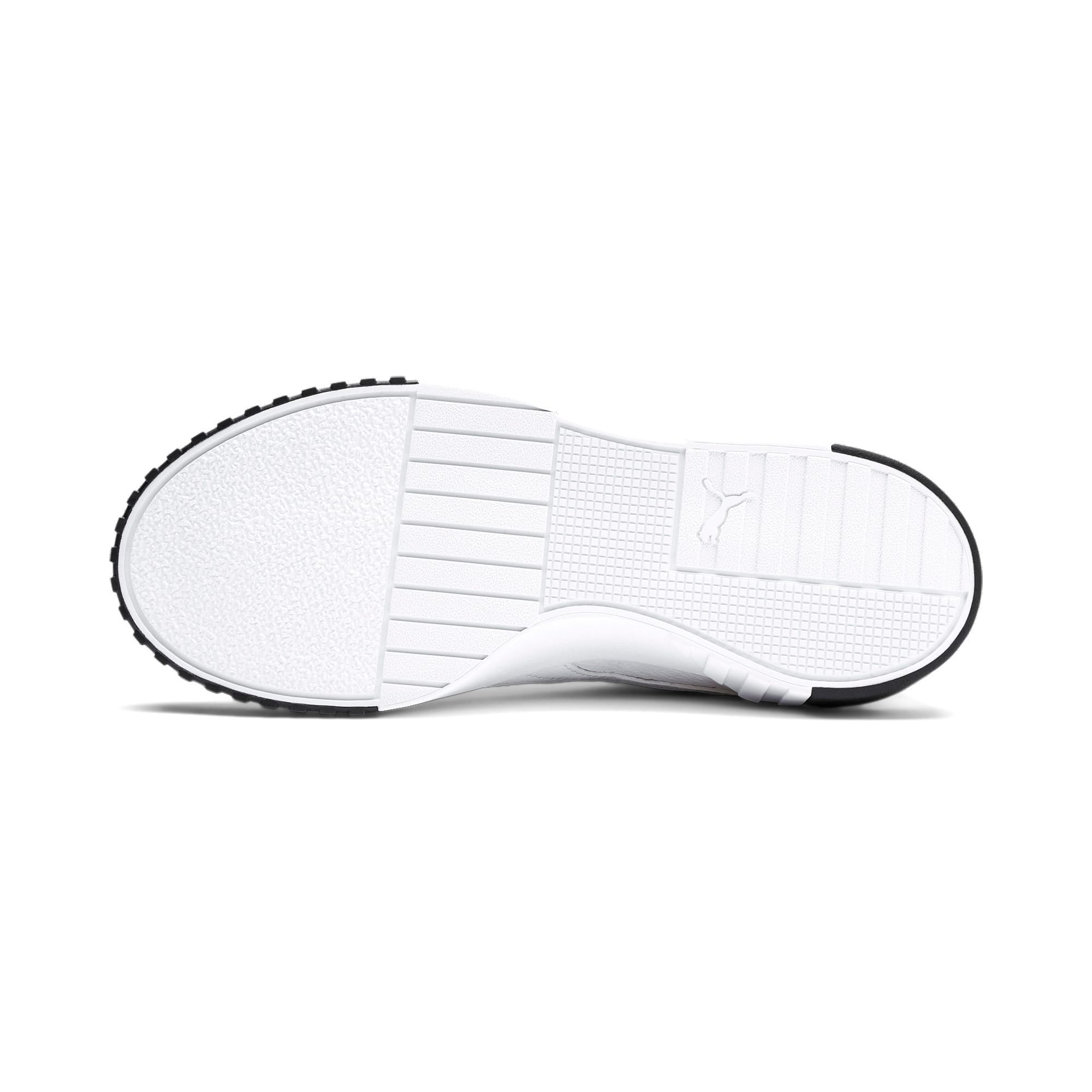 Thumbnail 5 of Cali Women's Trainers, Puma White-Puma Black, medium