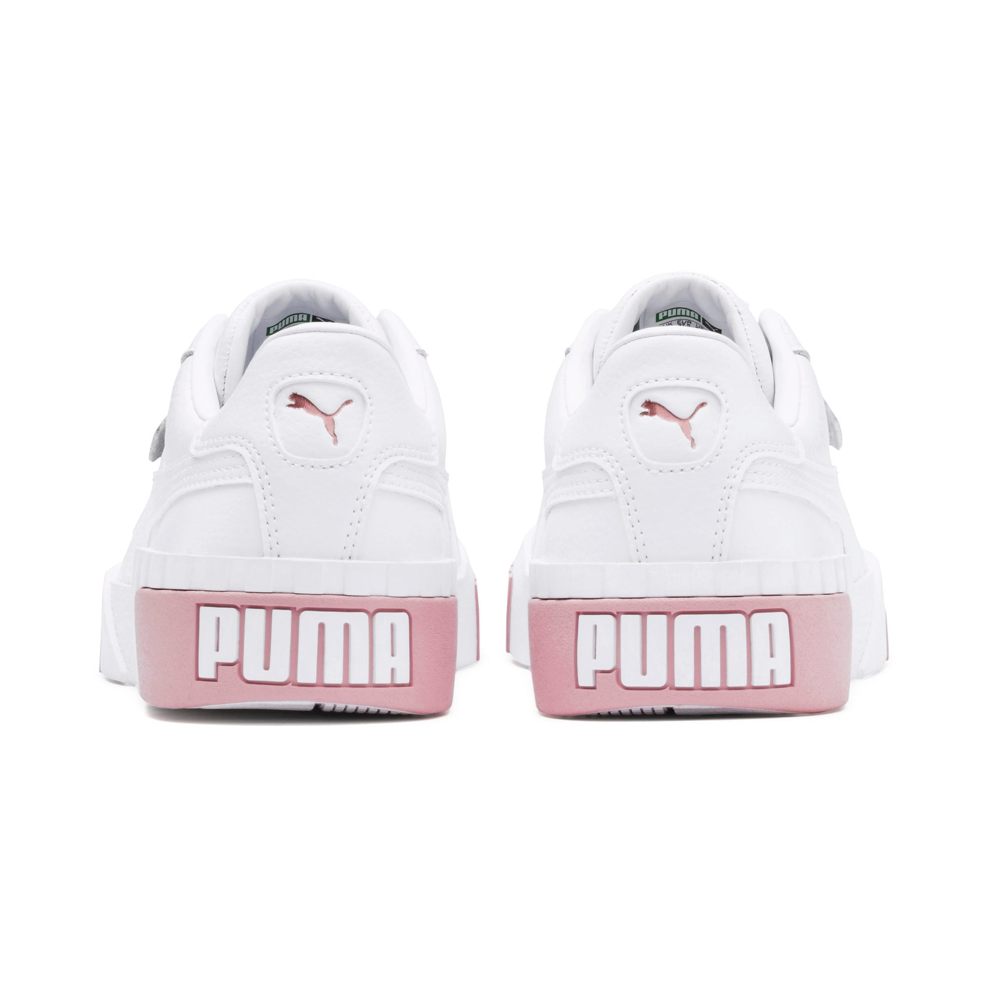 Thumbnail 4 of Cali Women's Trainers, Puma White-Rose Gold, medium