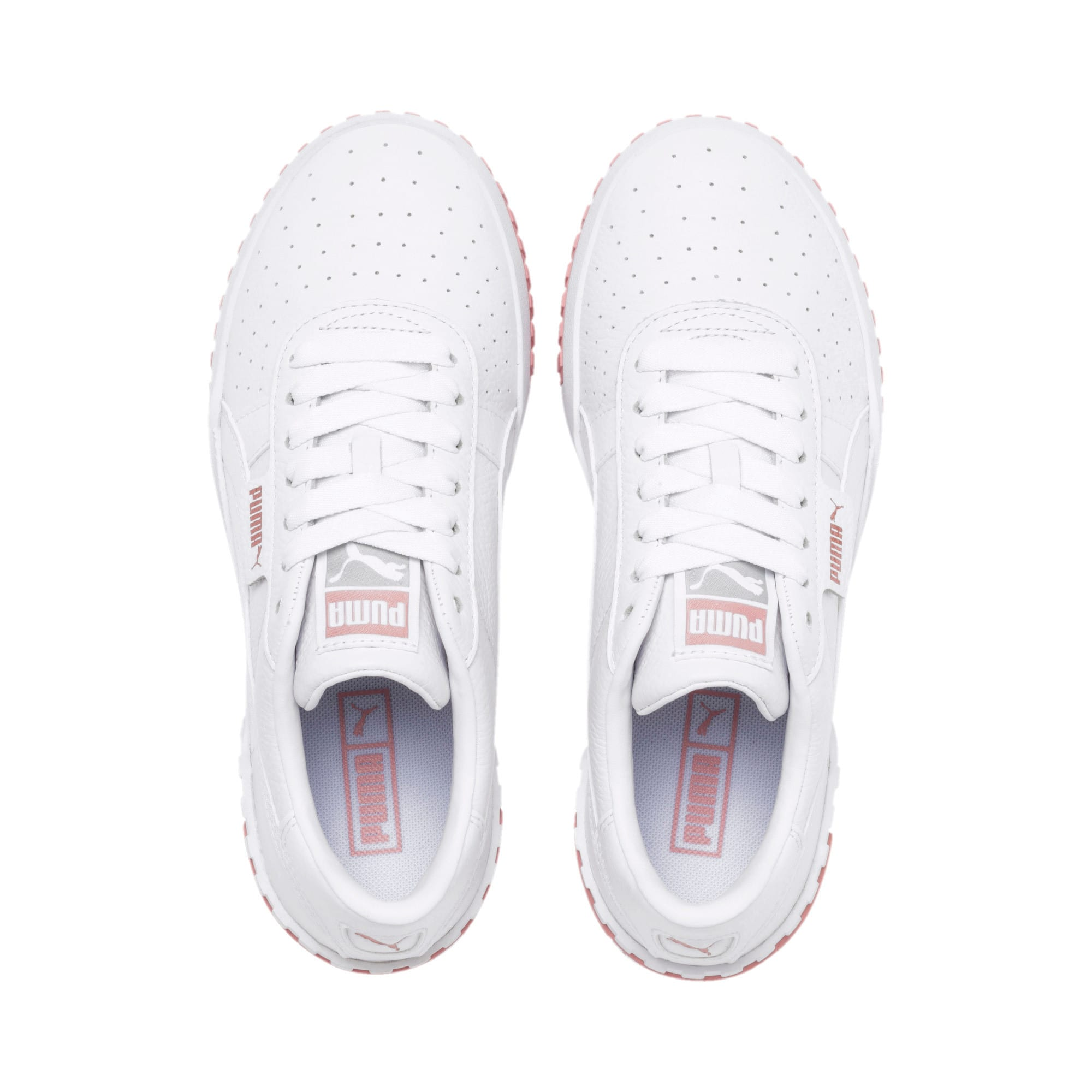 Thumbnail 4 of Cali Women's Trainers, Puma White-Rose Gold, medium-IND