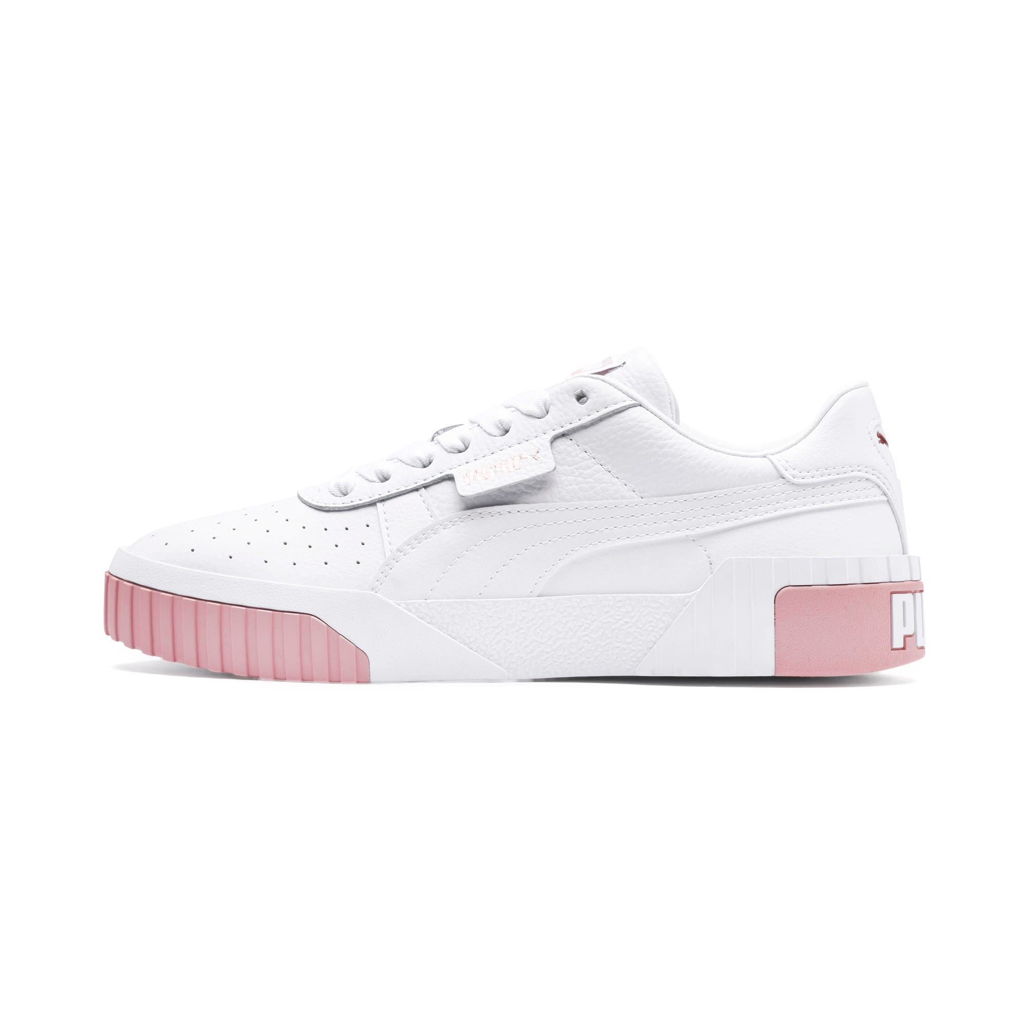 Thumbnail 1 of Cali Women's Trainers, Puma White-Rose Gold, medium-IND