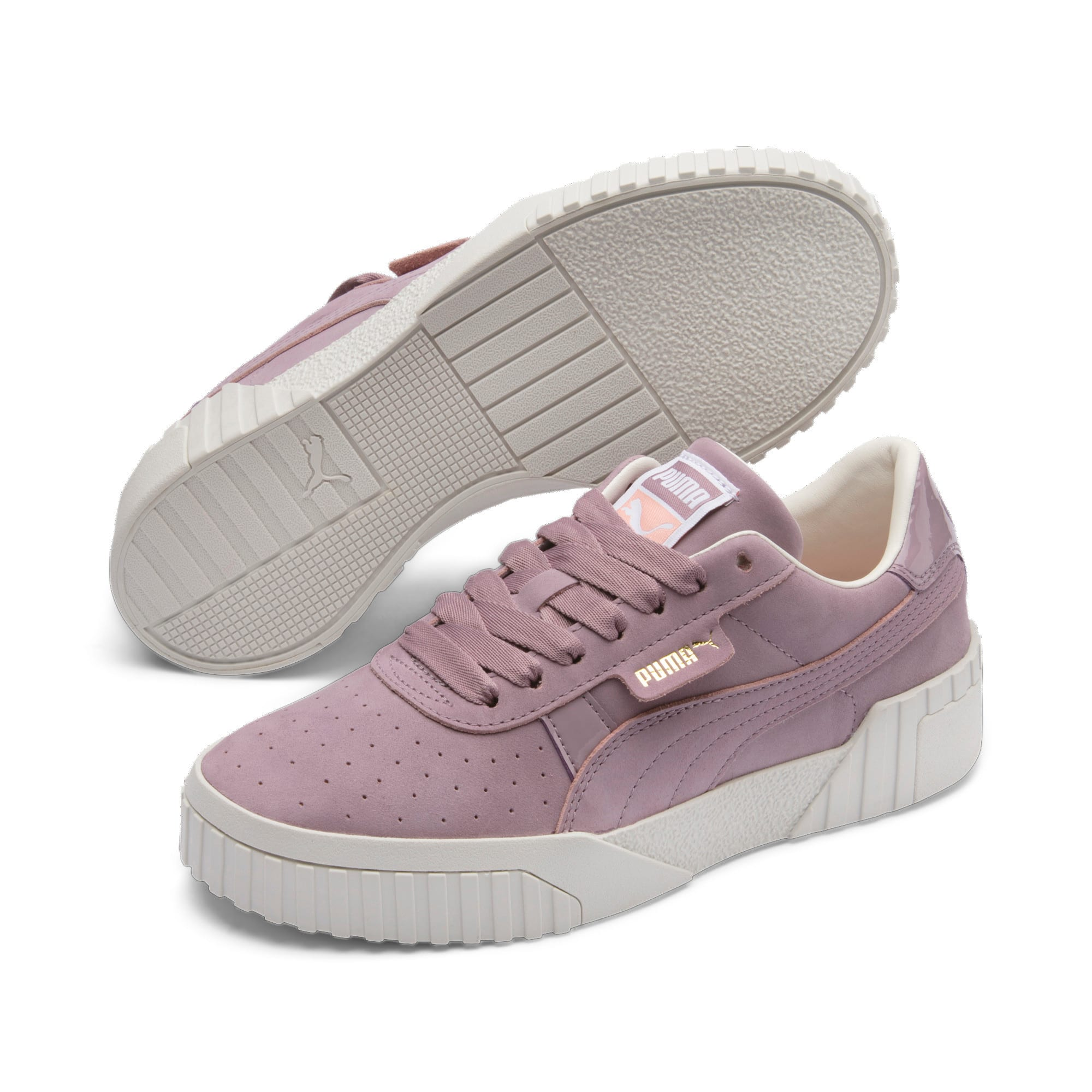 Thumbnail 4 of Cali Nubuck Women's Sneakers, Elderberry, medium