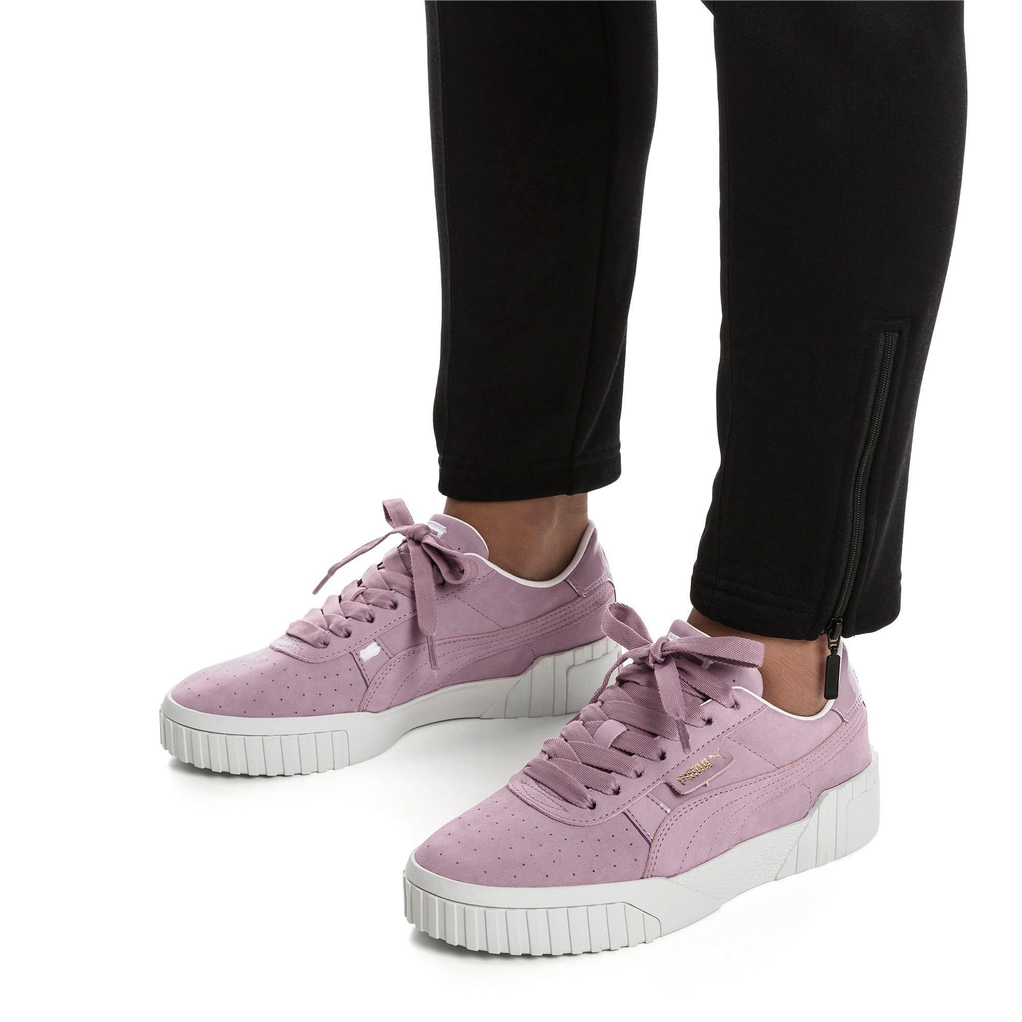 Thumbnail 3 of Cali Nubuck Women's Sneakers, Elderberry, medium