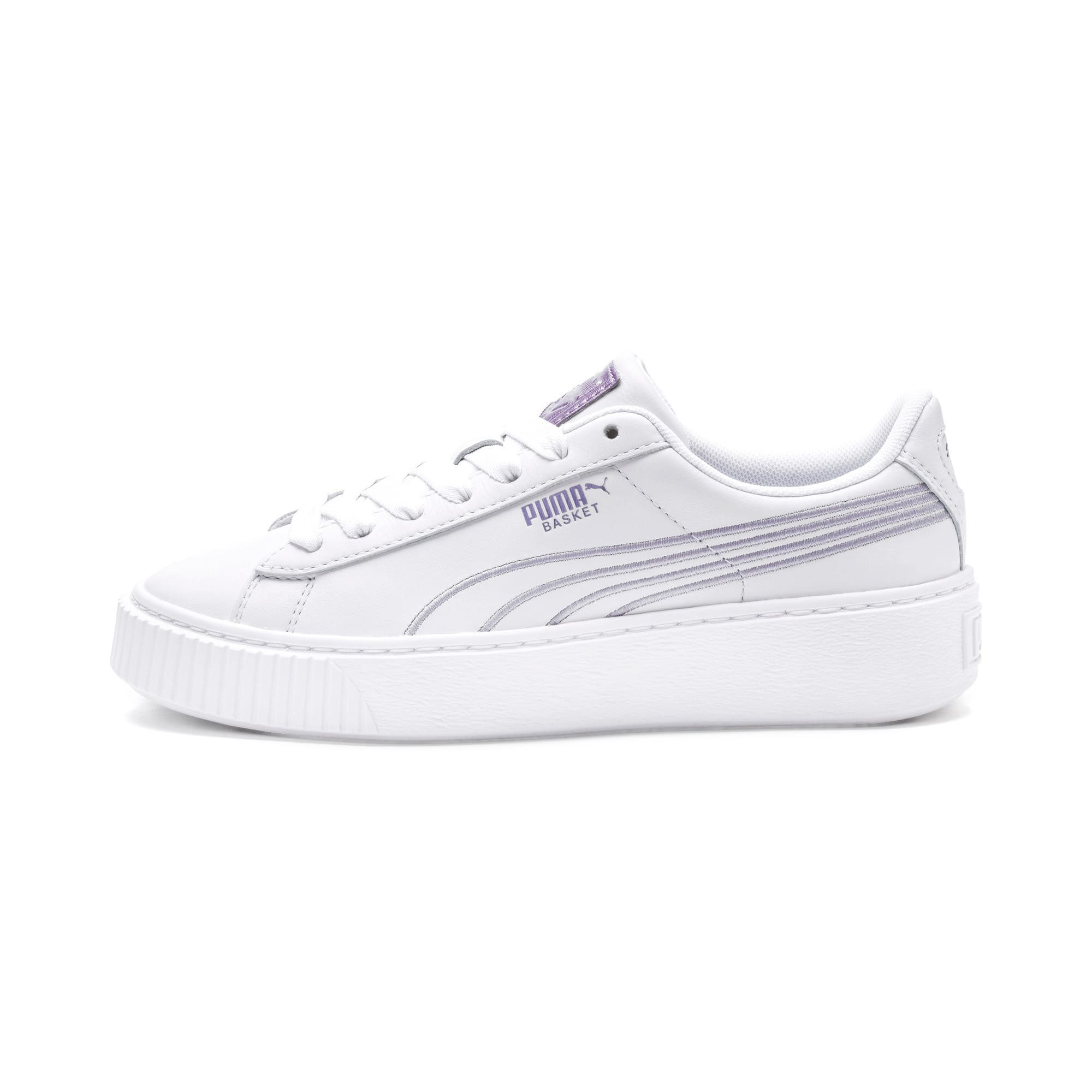Thumbnail 1 of Platform Twilight Wn's, Puma White-Sweet Lavender, medium-IND