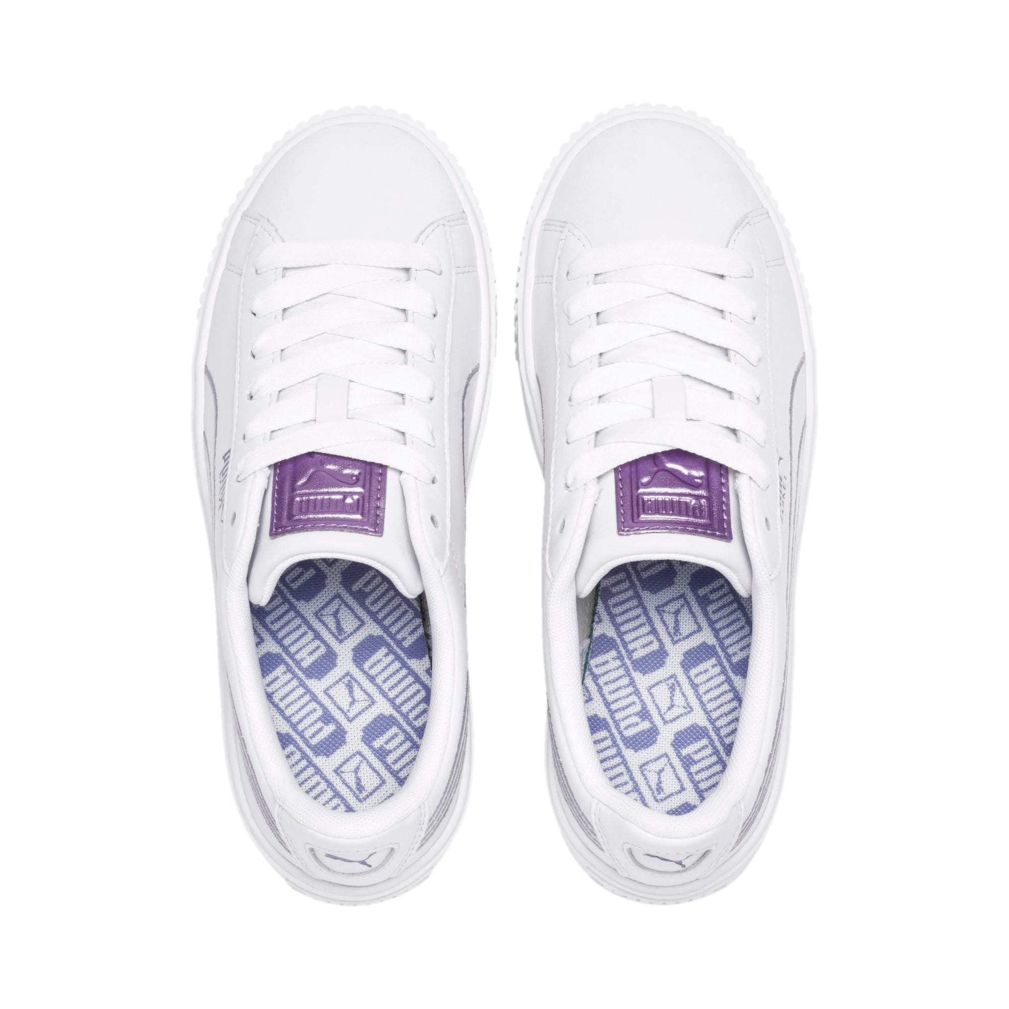 Thumbnail 6 of Platform Twilight Wn's, Puma White-Sweet Lavender, medium-IND