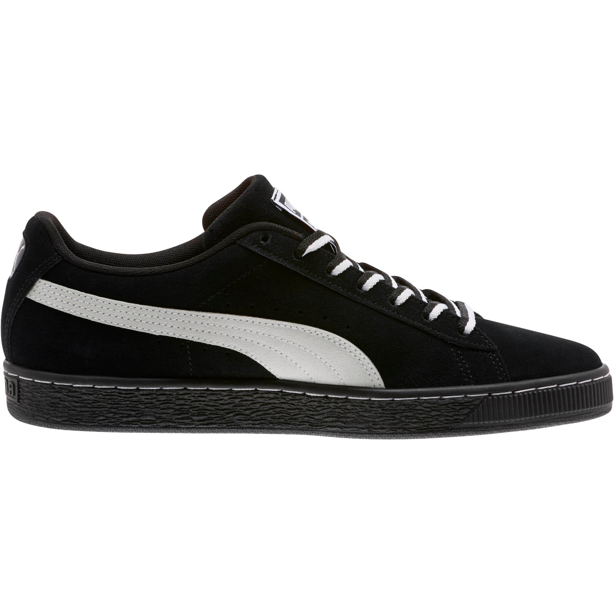 """Thumbnail 3 of Suede Classic """"Other Side"""" Sneakers, Puma Black-Puma White, medium"""