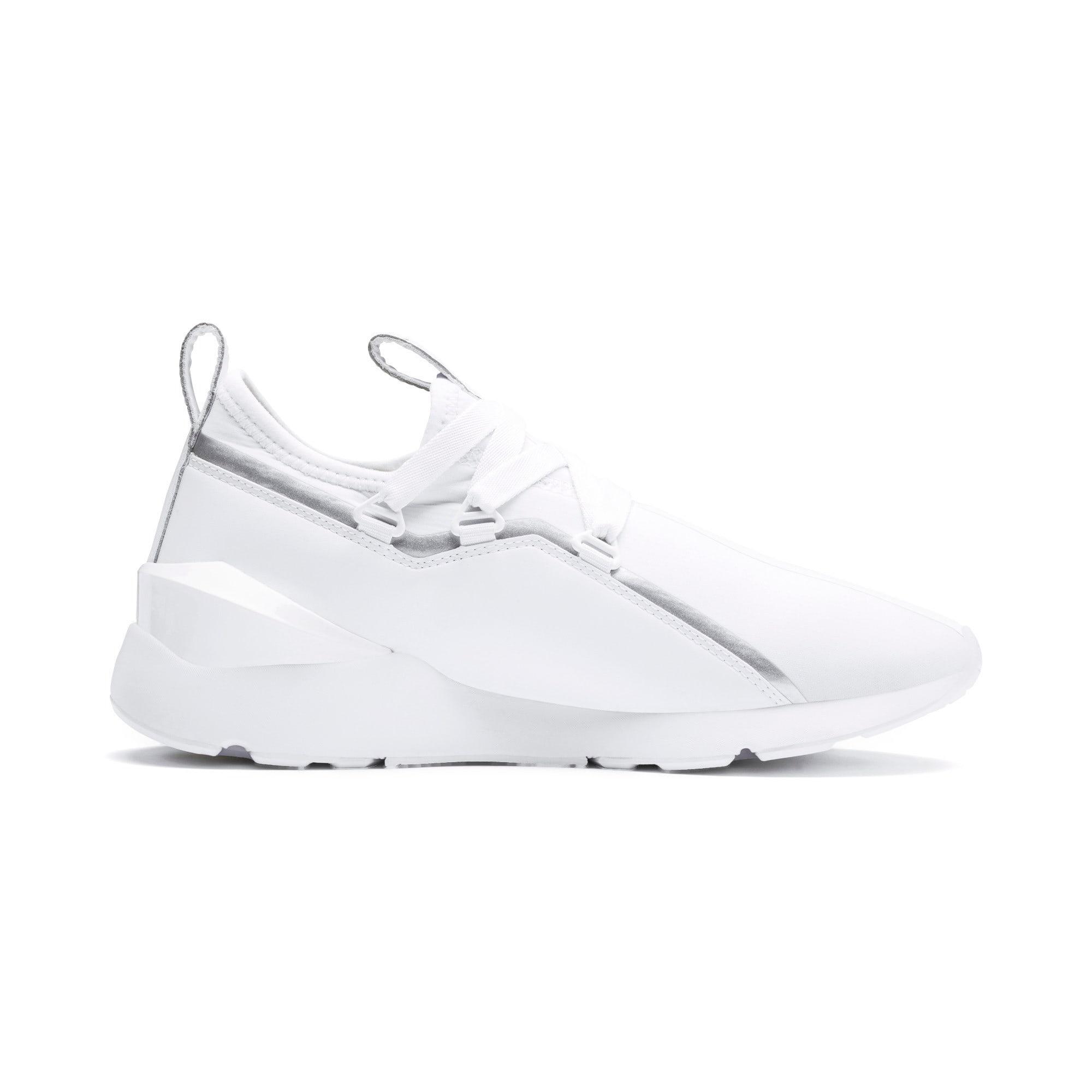 Thumbnail 6 of Muse 2 Trailblazer Women's Sneakers, Puma White-Puma Silver, medium