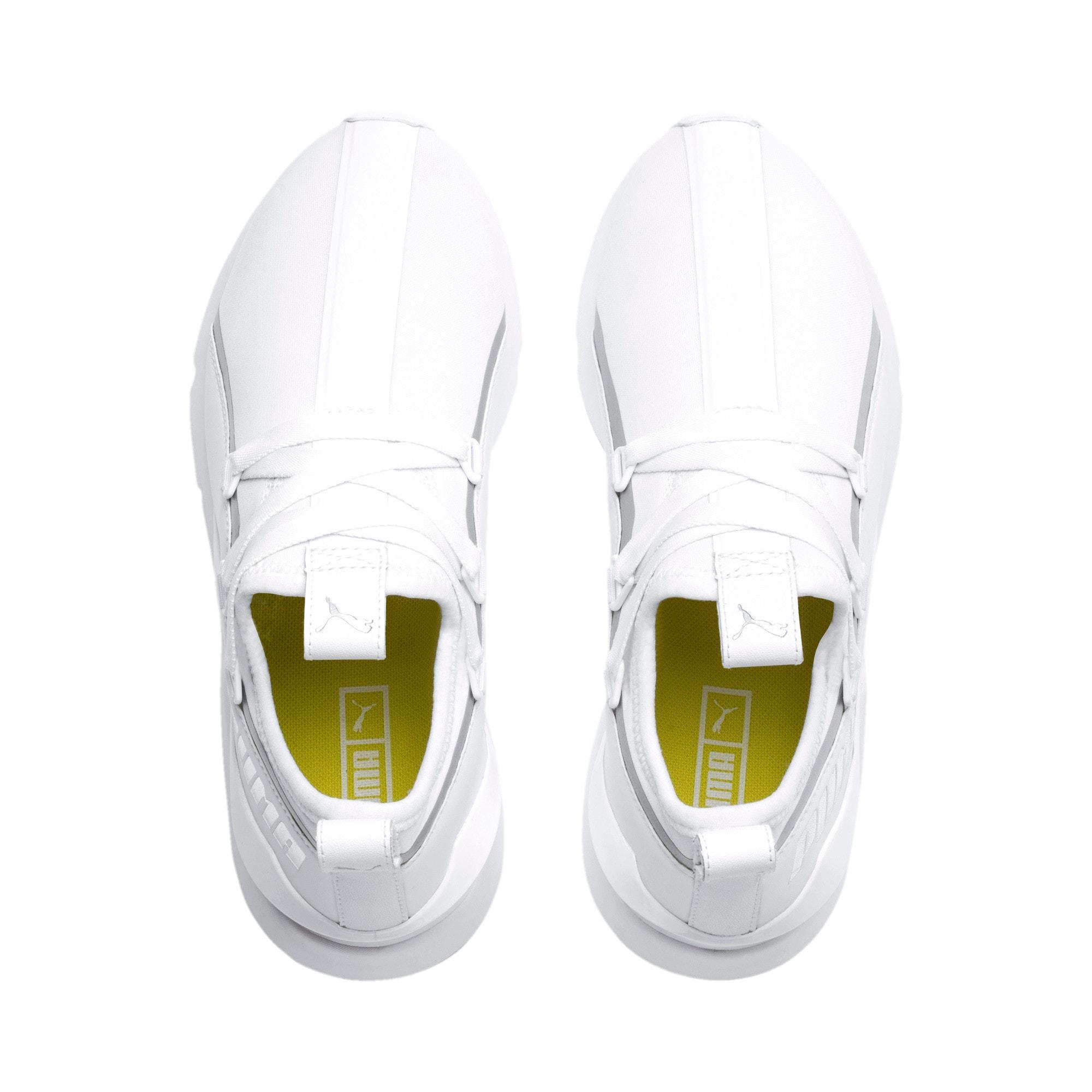 Thumbnail 7 of Muse 2 Trailblazer Women's Sneakers, Puma White-Puma Silver, medium