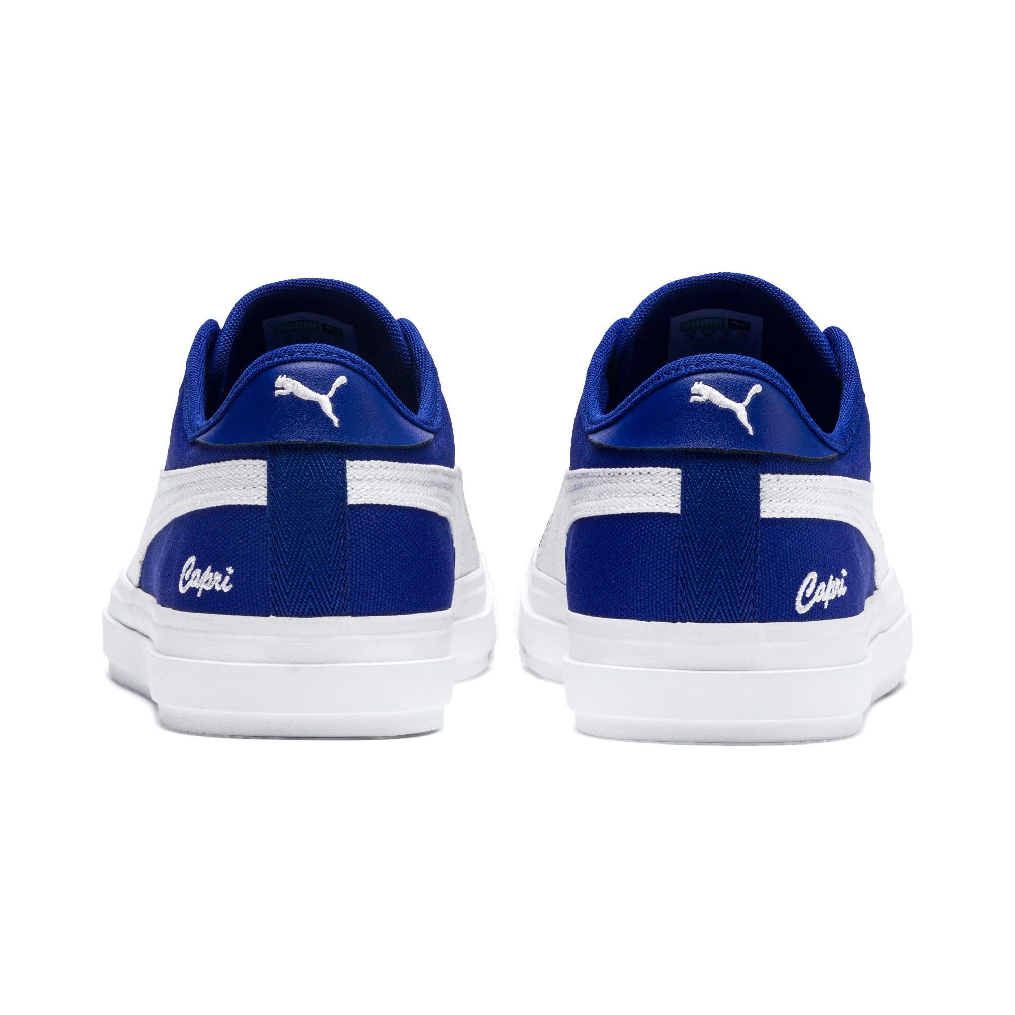 Thumbnail 3 of Capri Tennis Shoes, Surf DWeb-Puma Wht-Puma Wht, medium-IND