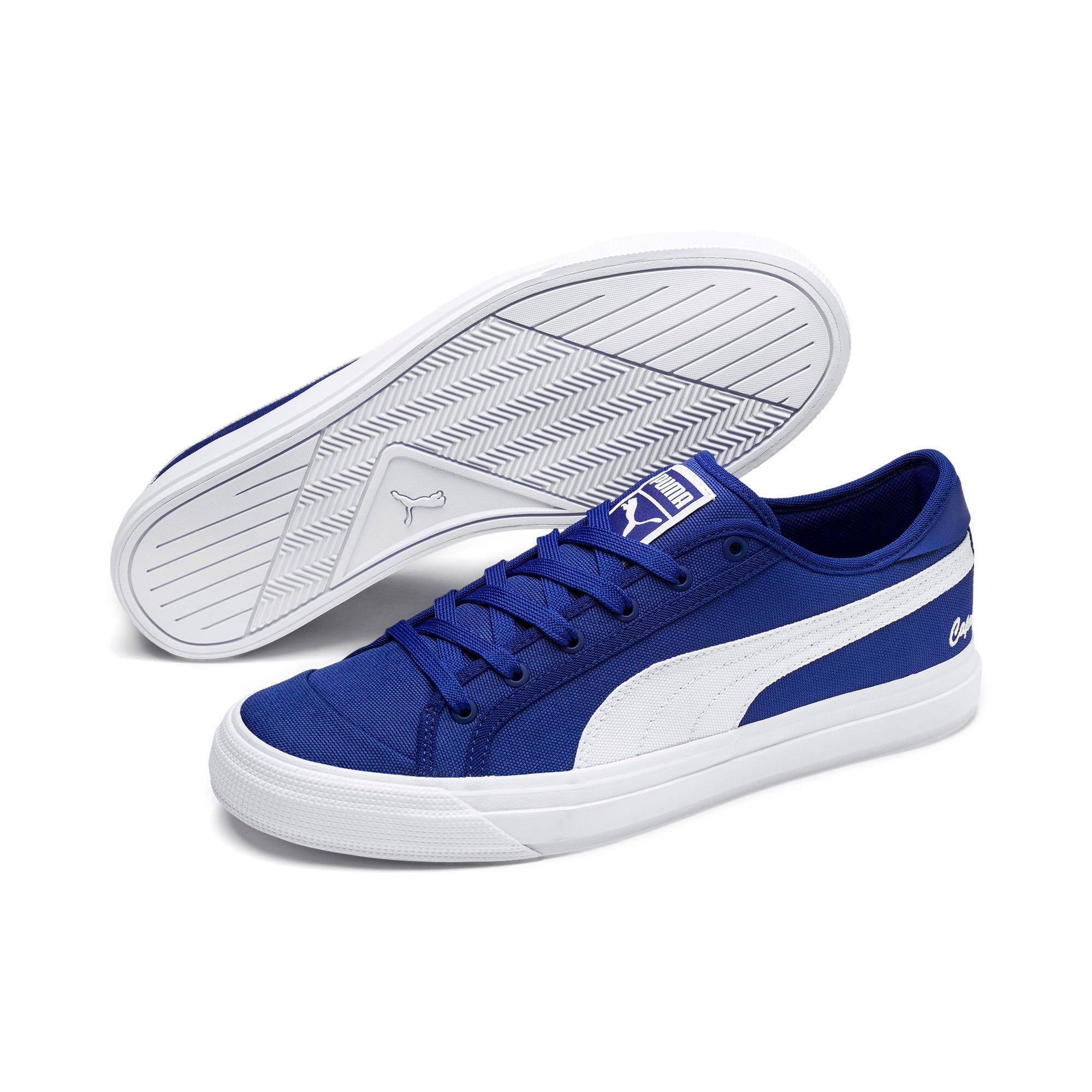 Thumbnail 2 of Capri Tennis Shoes, Surf DWeb-Puma Wht-Puma Wht, medium-IND