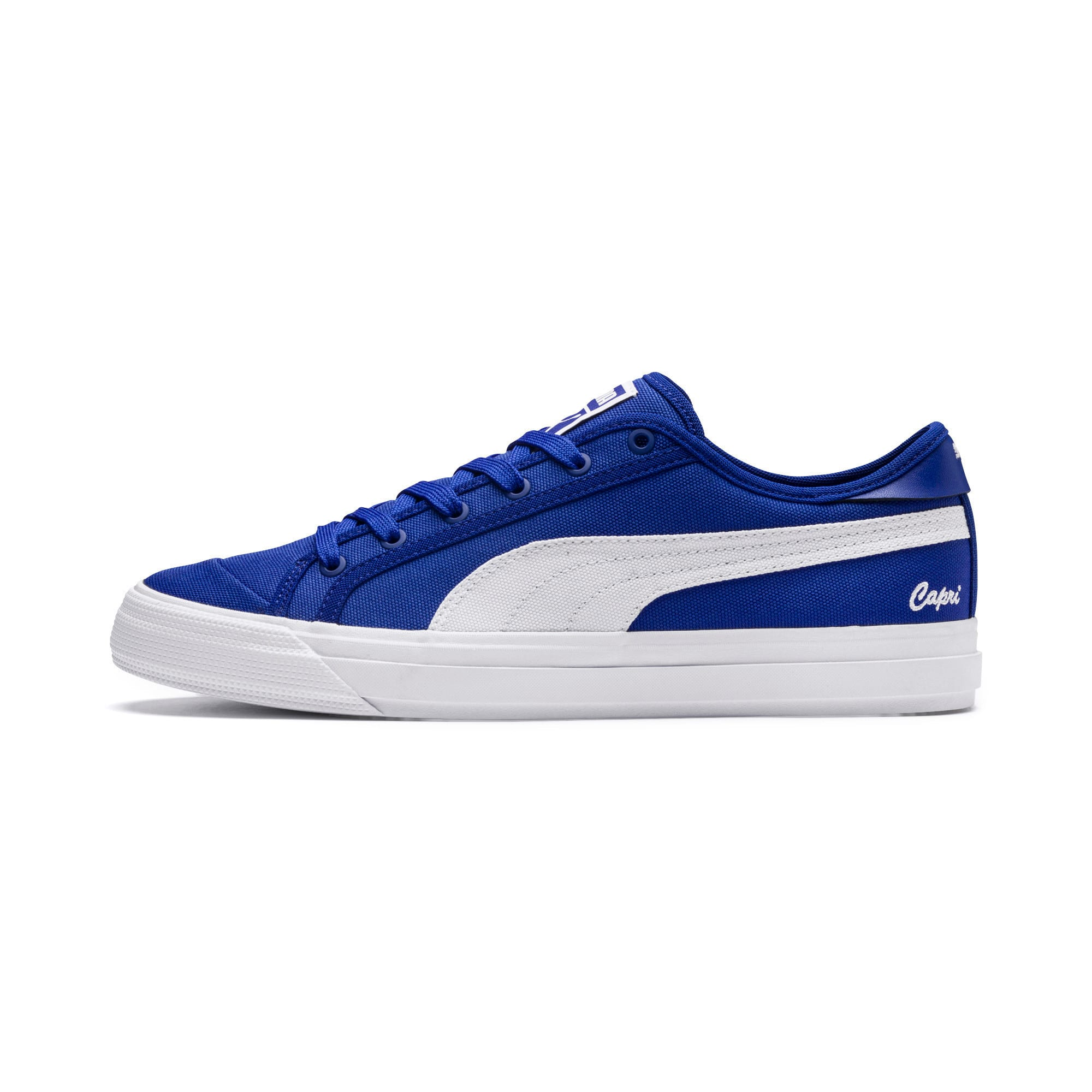 Thumbnail 1 of Capri Tennis Shoes, Surf DWeb-Puma Wht-Puma Wht, medium-IND