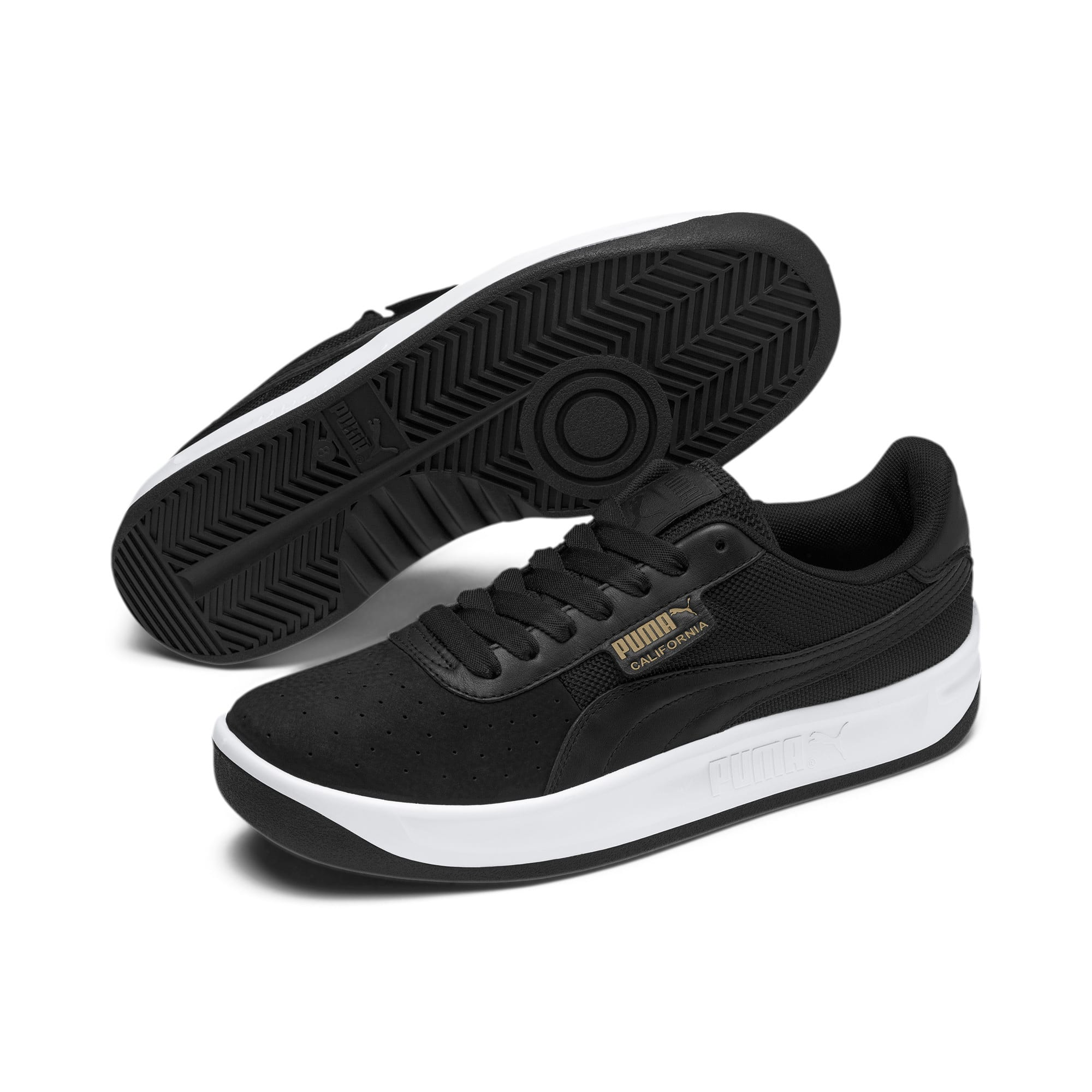 Miniatura 3 de Zapatos deportivos California, P Black-P White-P Black, mediano