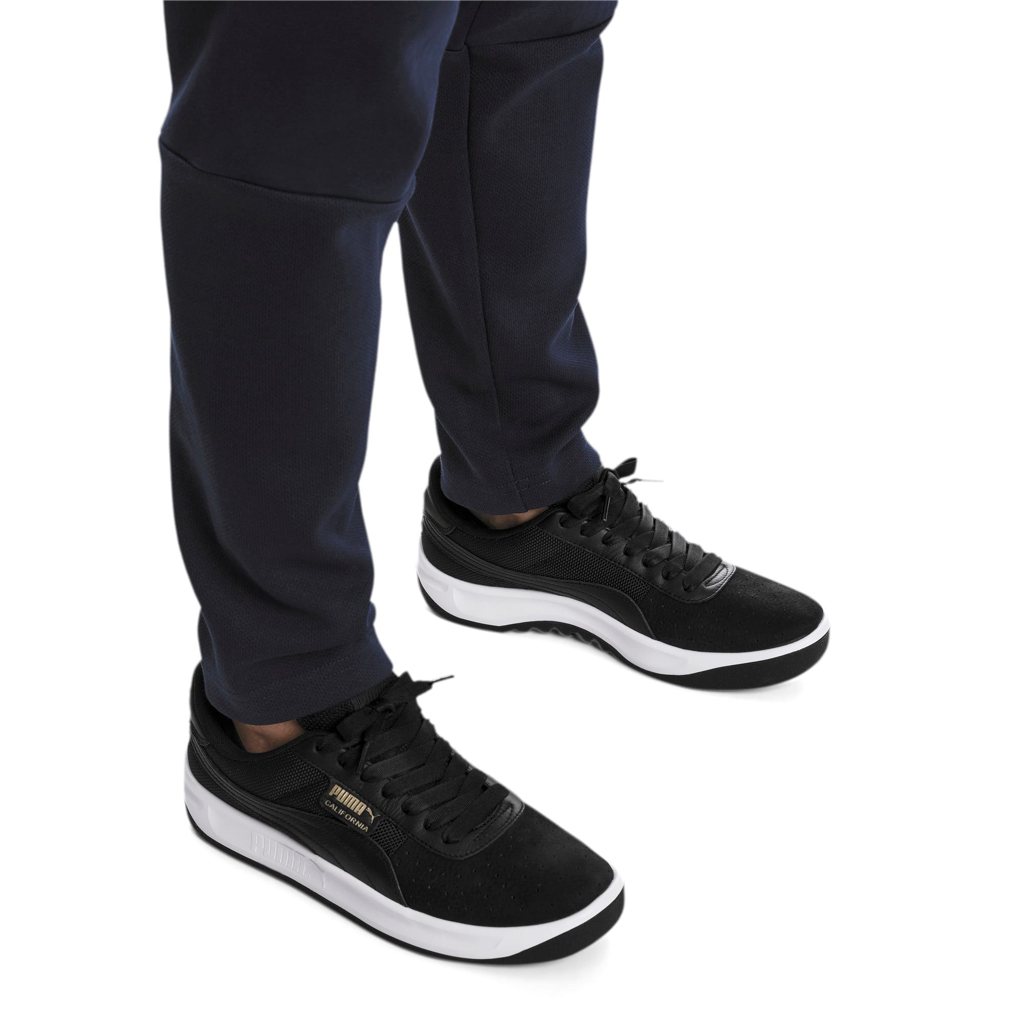 Miniatura 2 de Zapatos deportivos California, P Black-P White-P Black, mediano