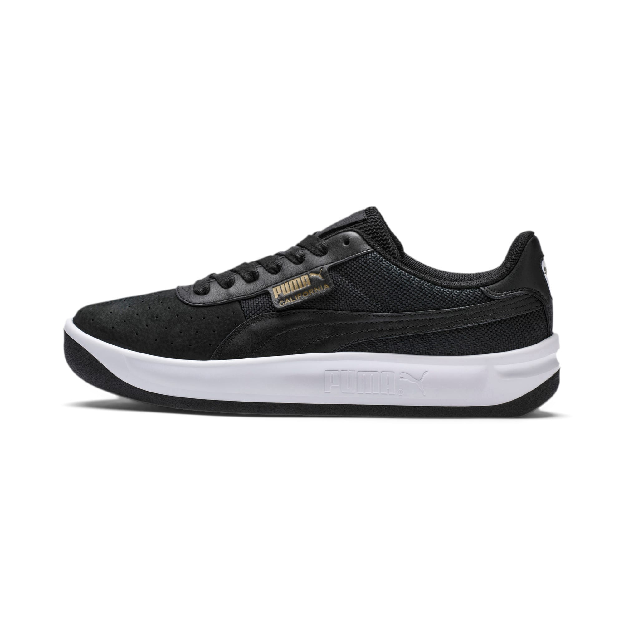 Miniatura 1 de Zapatos deportivos California, P Black-P White-P Black, mediano