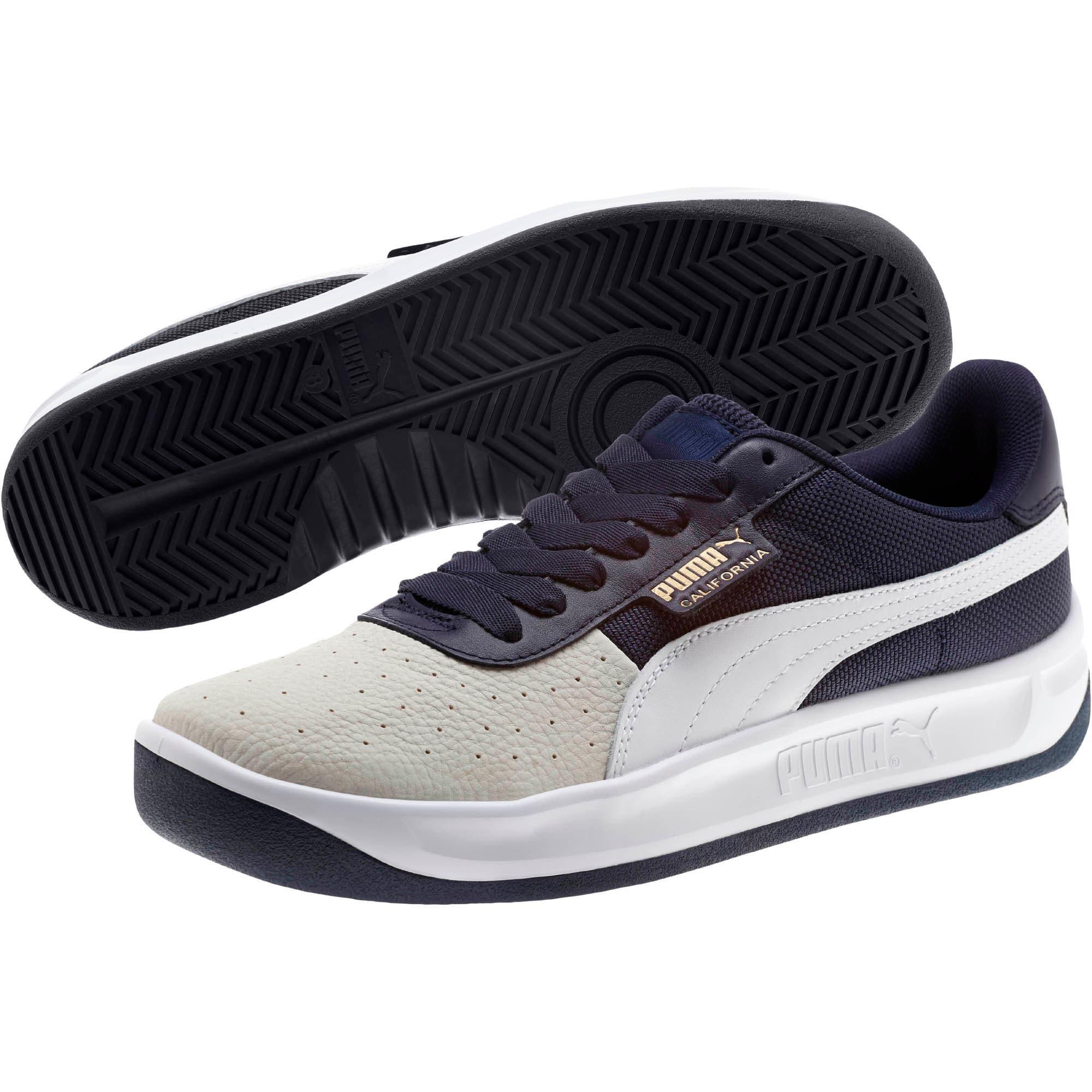 Thumbnail 2 of California Sneakers, Glacier Gray-Peacoat-PumaWht, medium