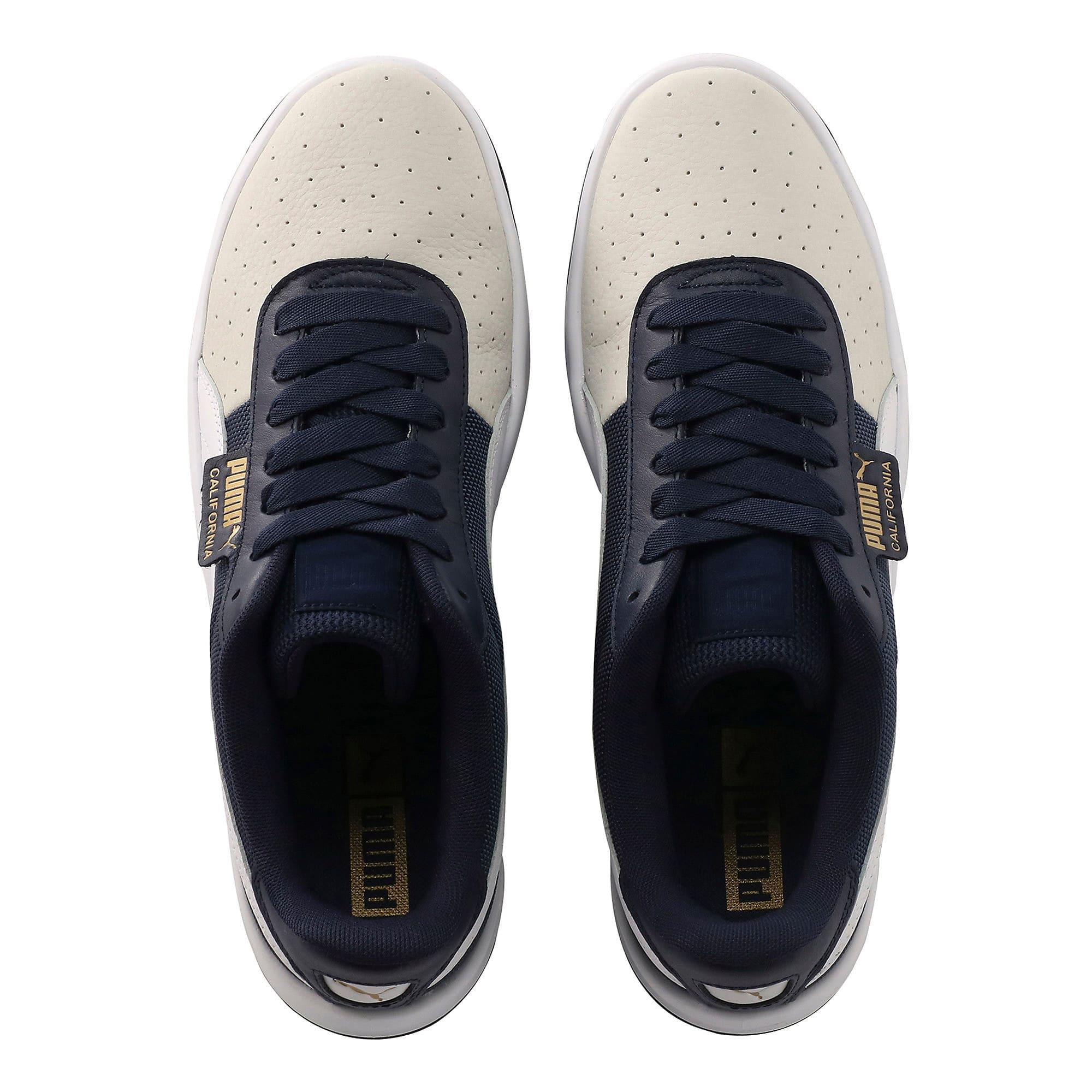 Thumbnail 6 of California Sneakers, Glacier Gray-Peacoat-PumaWht, medium