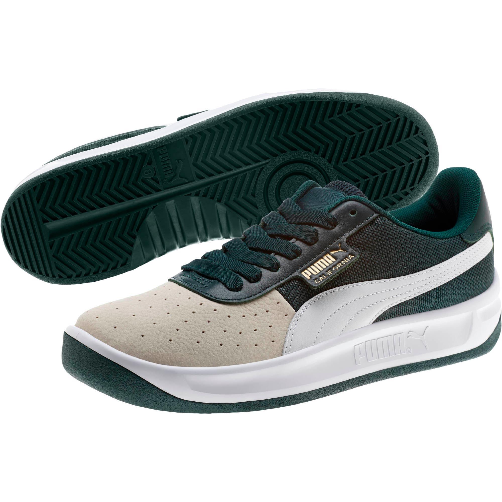 Thumbnail 2 of California Sneakers, WhsprWht-PonderosaPin-PumWht, medium