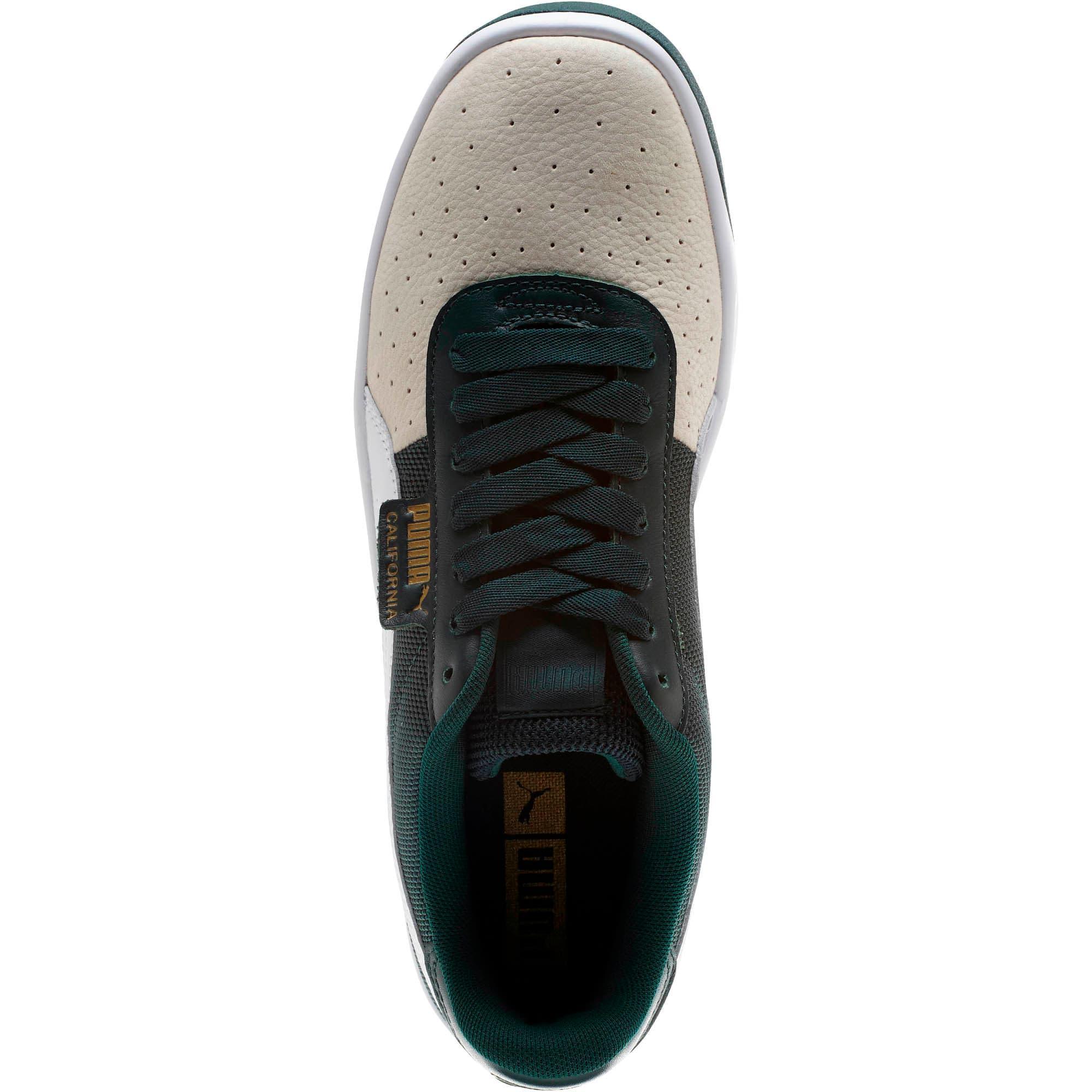 Thumbnail 5 of California Sneakers, WhsprWht-PonderosaPin-PumWht, medium