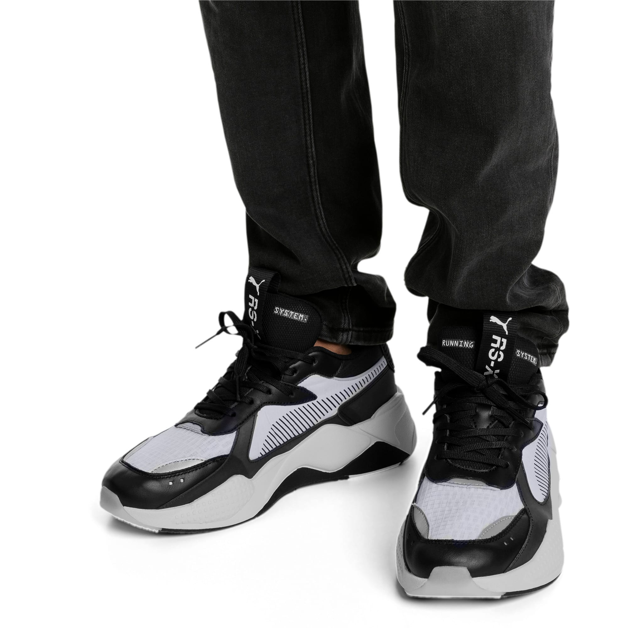 Thumbnail 2 of RS-X TECH スニーカー, Puma Black-Vaporous Gray, medium-JPN